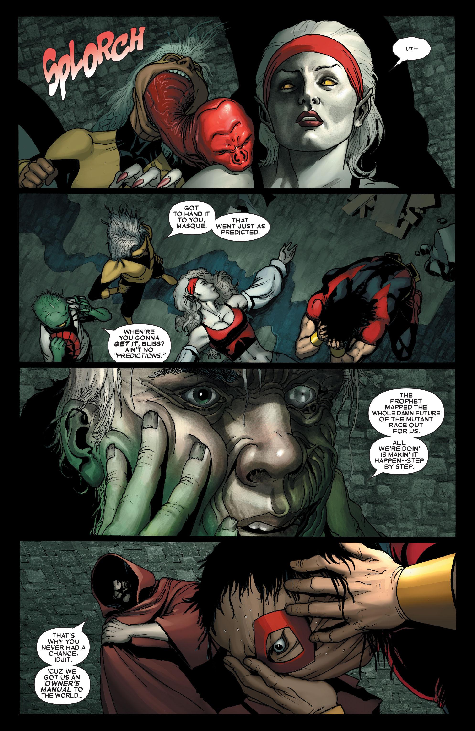 Read online Uncanny X-Men (1963) comic -  Issue #490 - 17