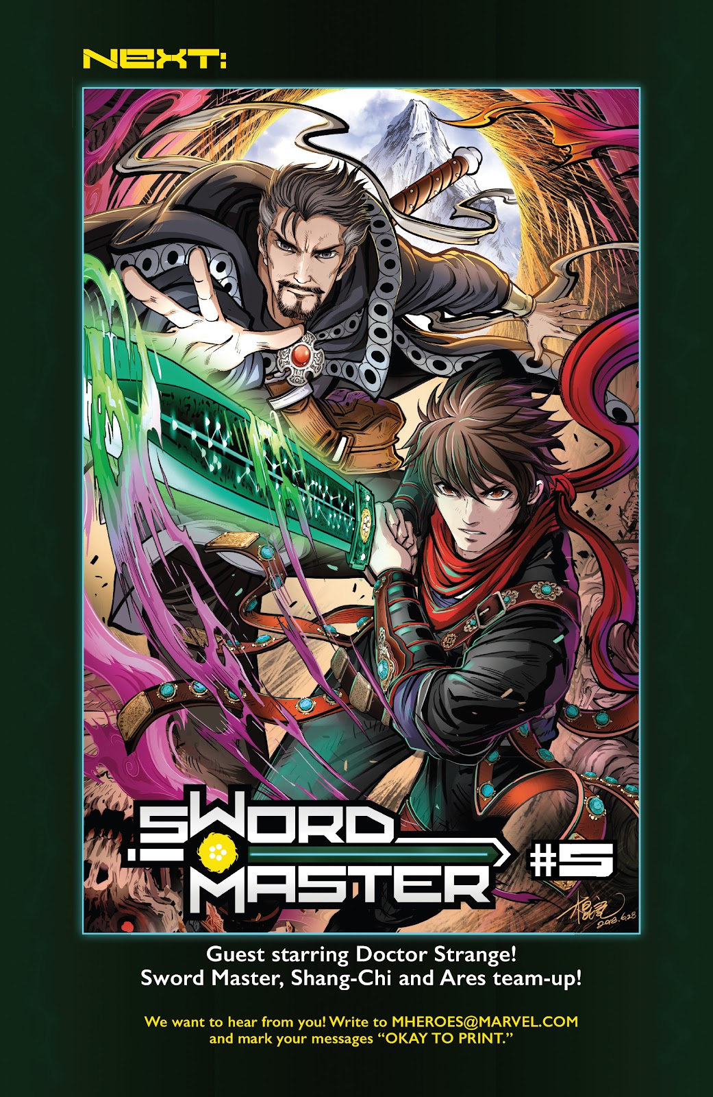 Read online Sword Master comic -  Issue #4 - 32