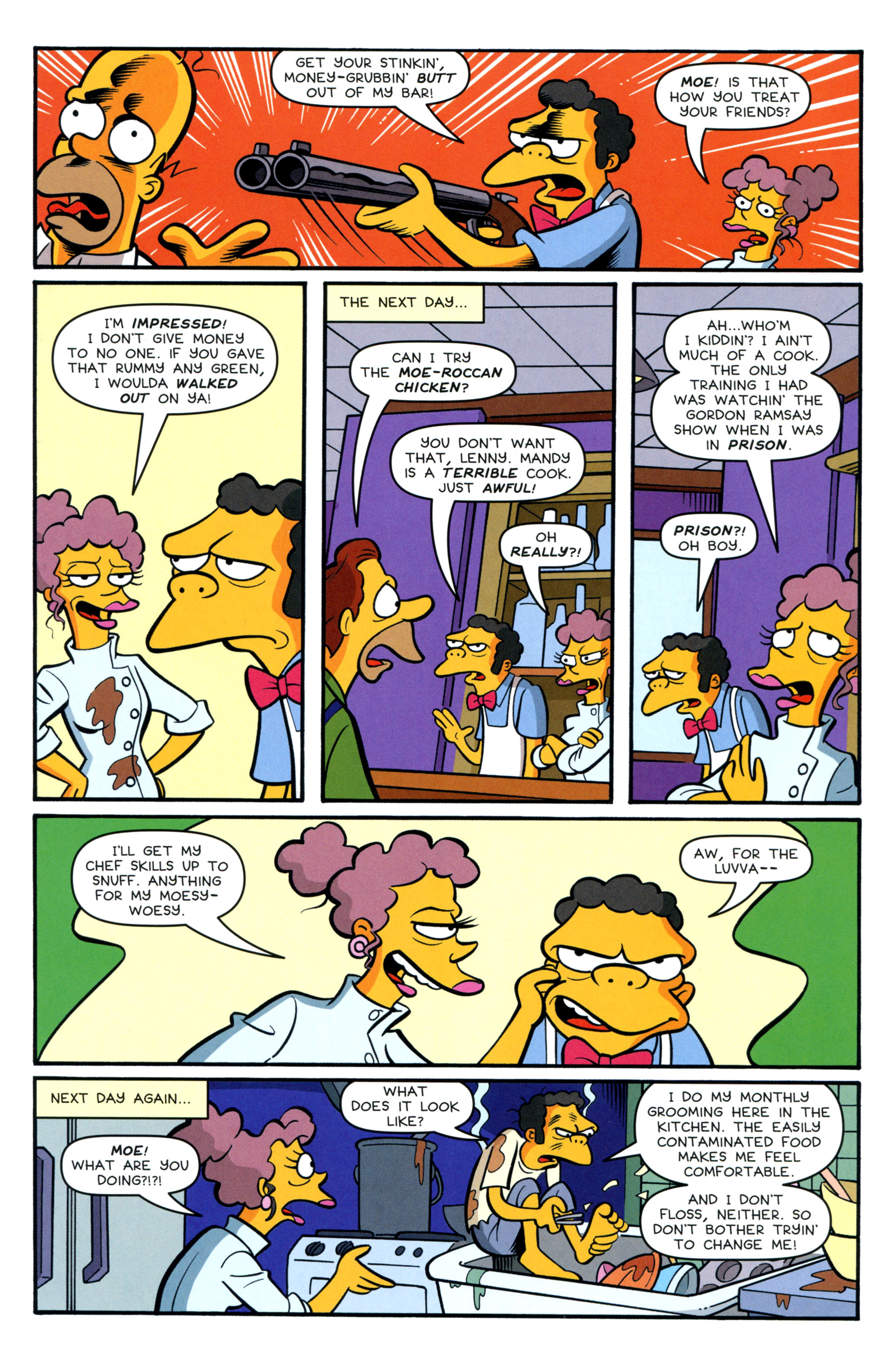 Read online Simpsons Comics comic -  Issue #200 - 39