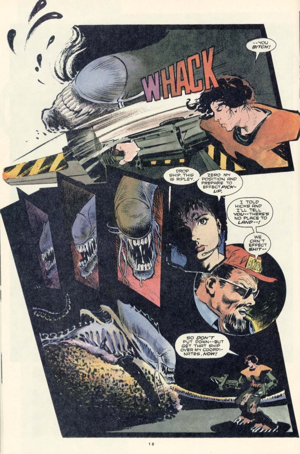 Read online Aliens: Earth War comic -  Issue #3 - 20