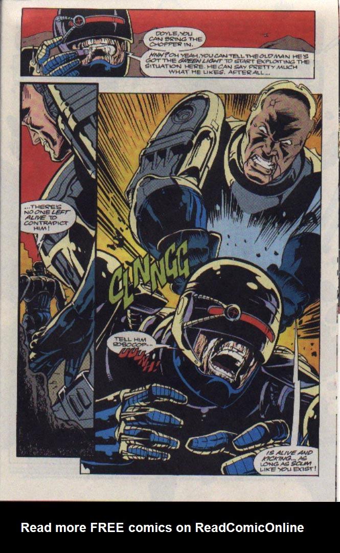Read online Robocop (1990) comic -  Issue #23 - 19