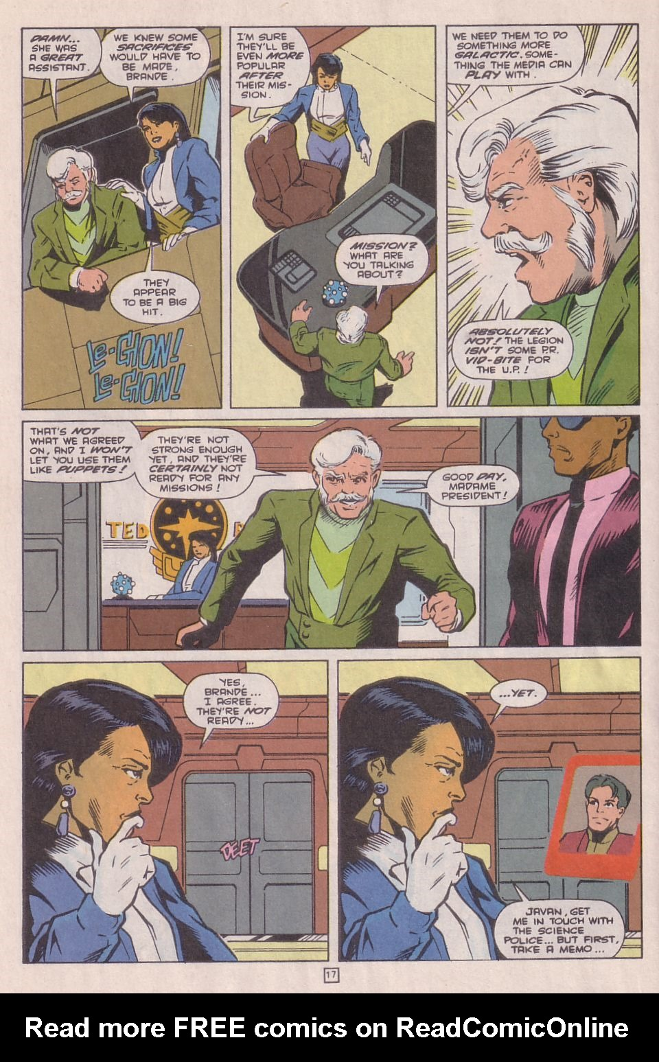 Legionnaires issue 0 - Page 18