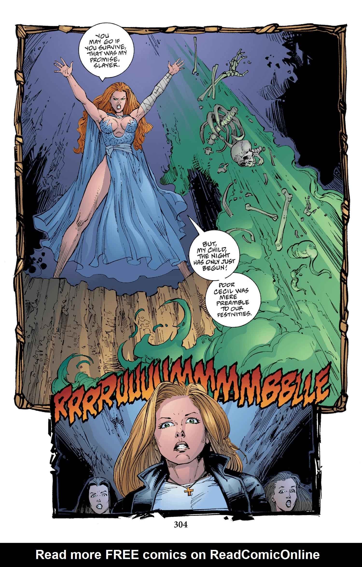 Read online Buffy the Vampire Slayer: Omnibus comic -  Issue # TPB 2 - 296