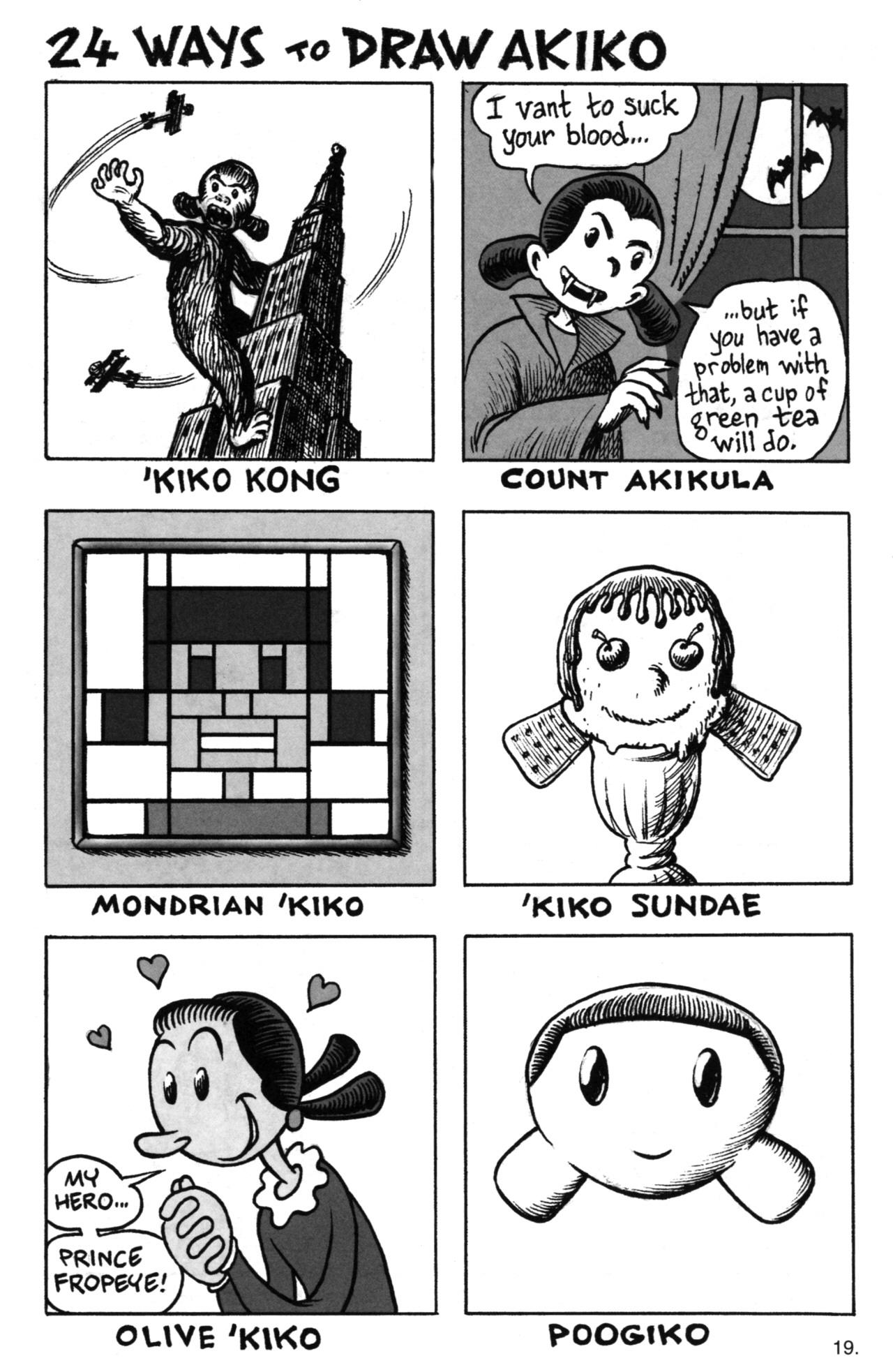Read online Akiko comic -  Issue #52 - 19