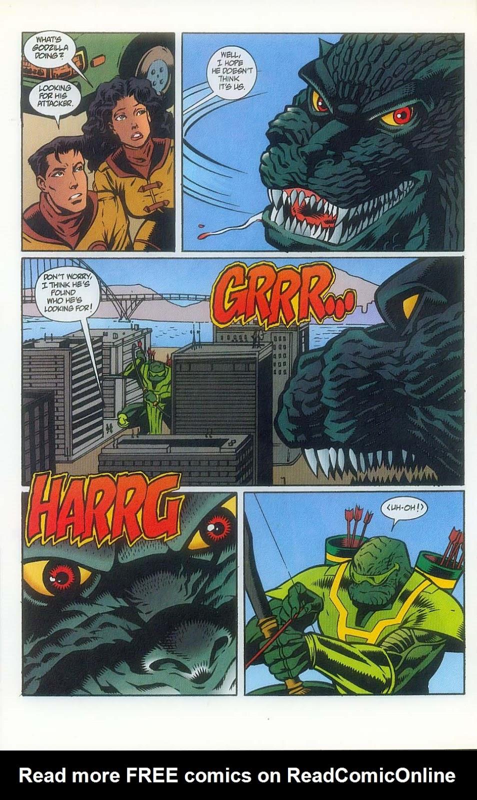Godzilla (1995) Issue #7 #8 - English 11