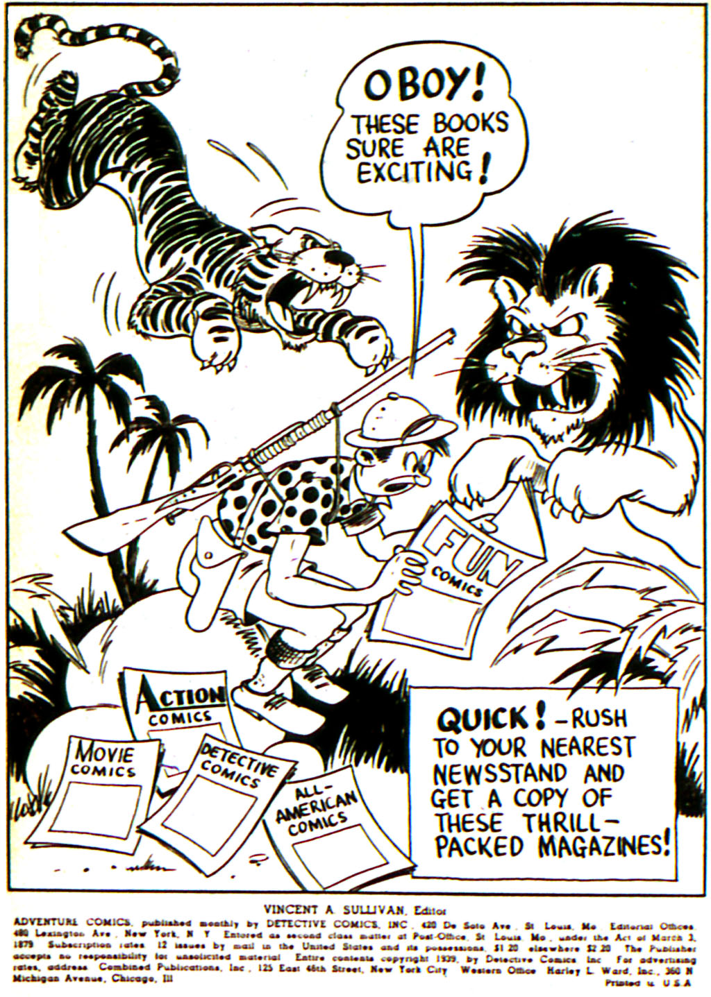 Read online Adventure Comics (1938) comic -  Issue #45 - 2