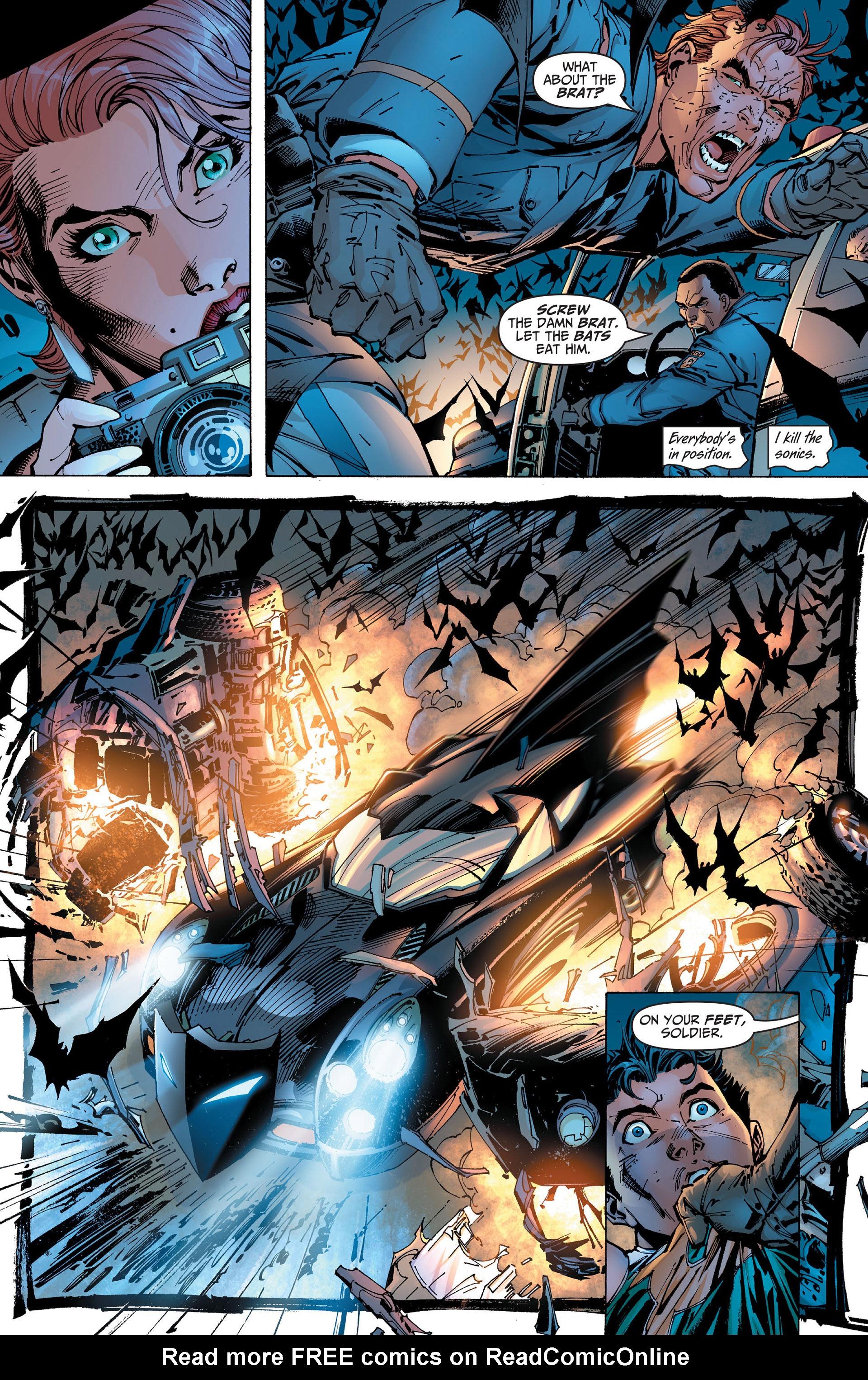 Read online All Star Batman & Robin, The Boy Wonder comic -  Issue #1 - 22