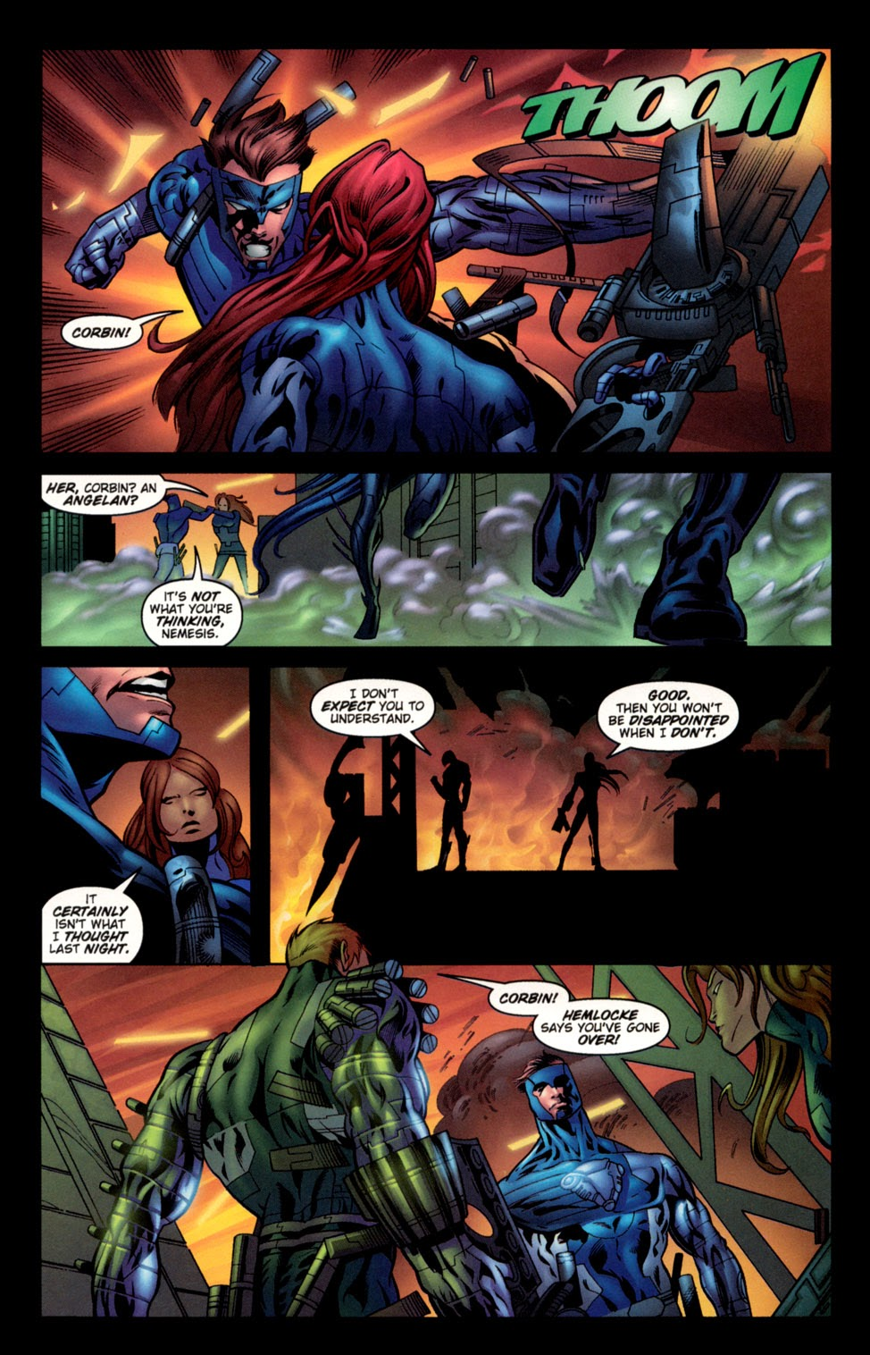 Read online C-23 comic -  Issue #3 - 20