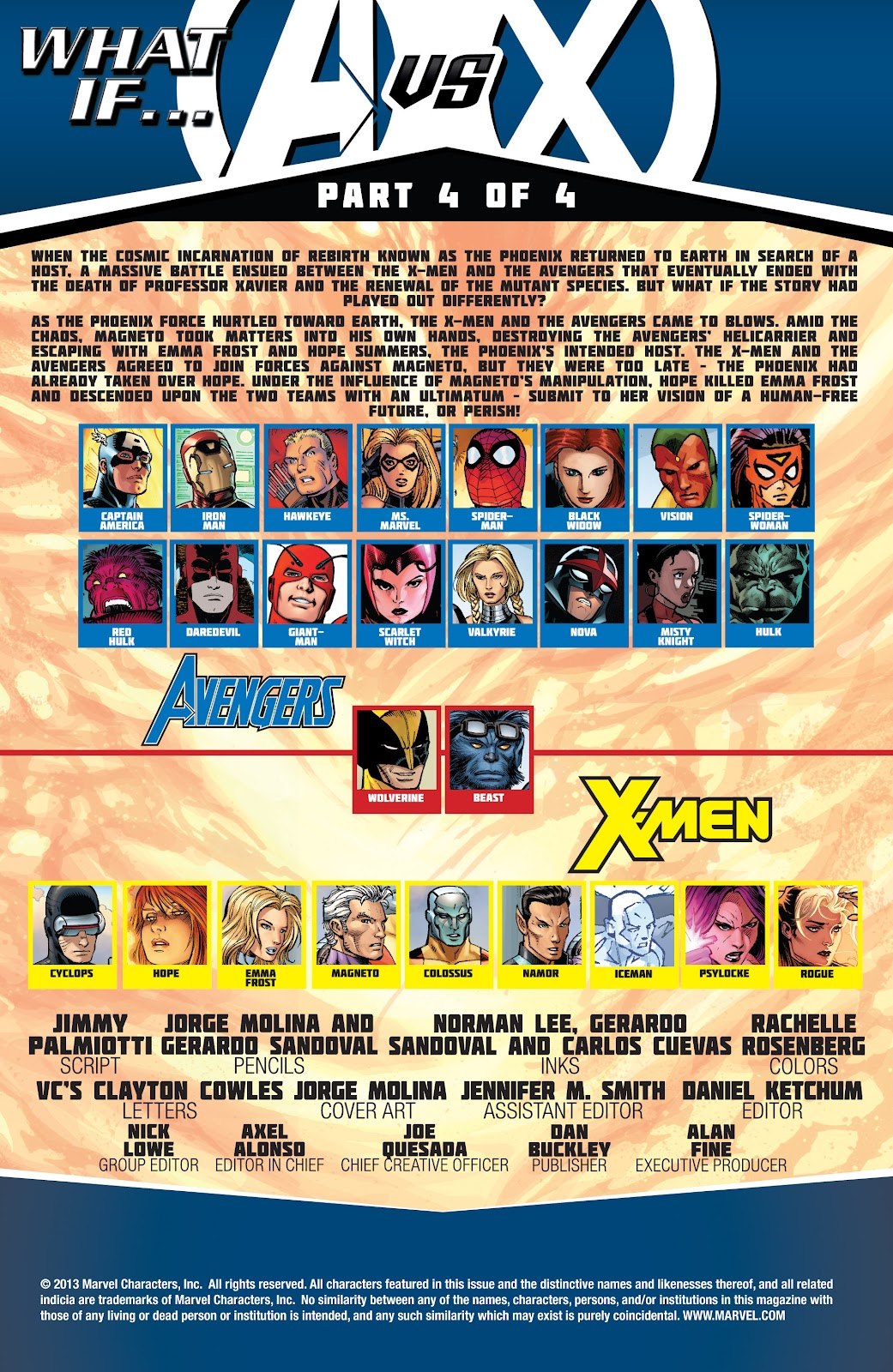 Read online What If? AvX comic -  Issue #4 - 2