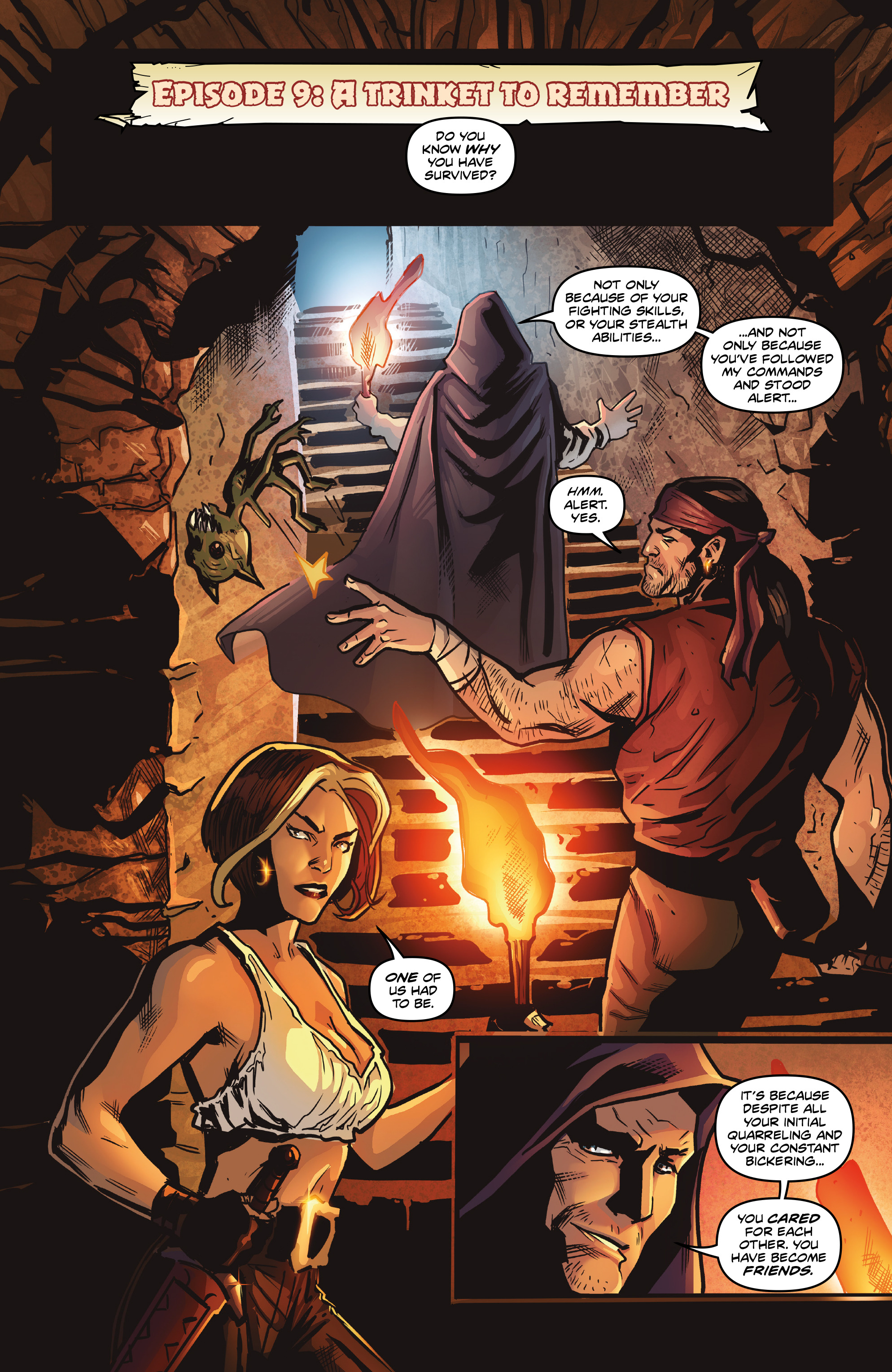 Read online Rogues!: The Burning Heart comic -  Issue #5 - 21