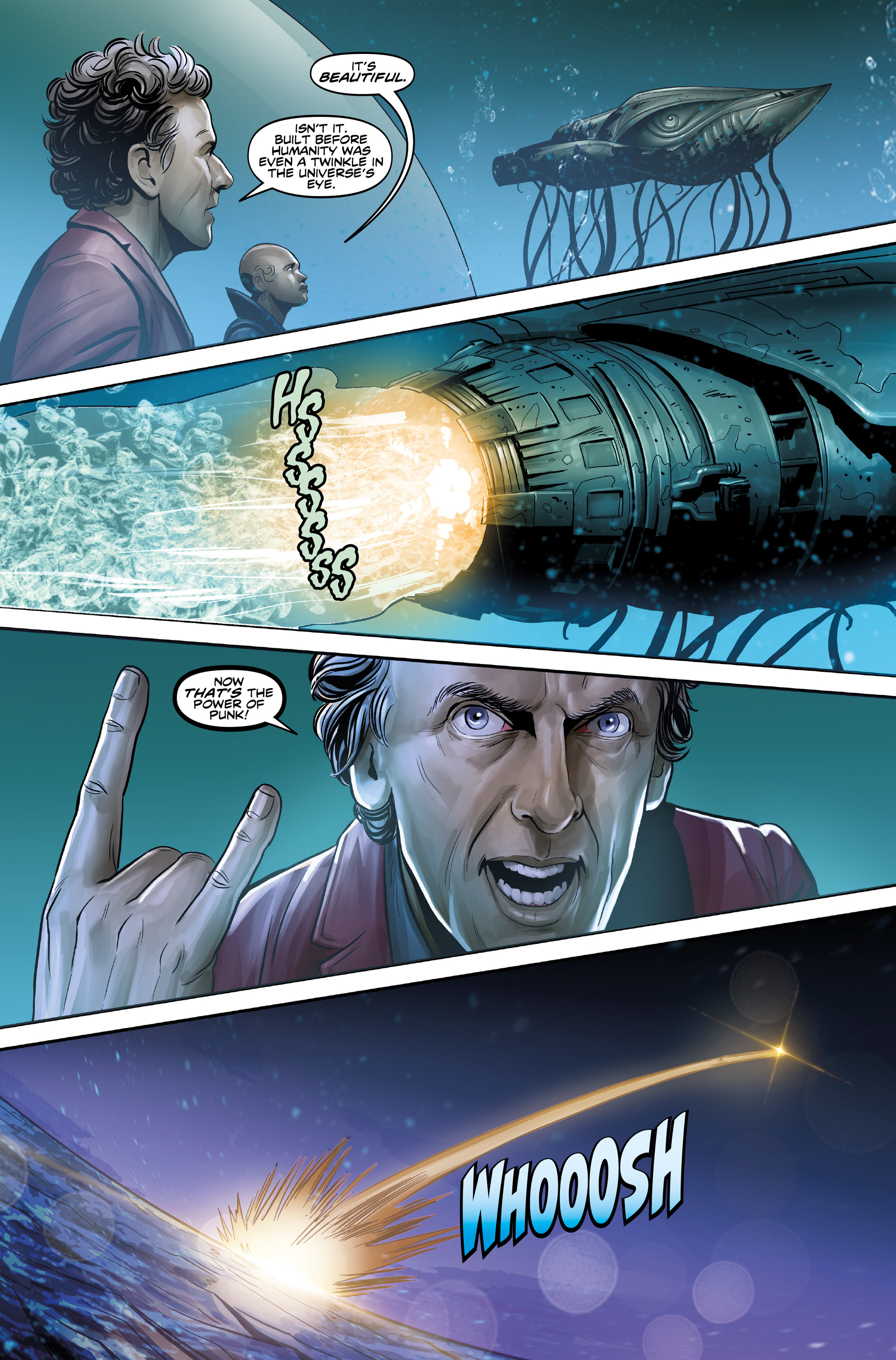 Read online Doctor Who: The Twelfth Doctor Year Three comic -  Issue #4 - 22