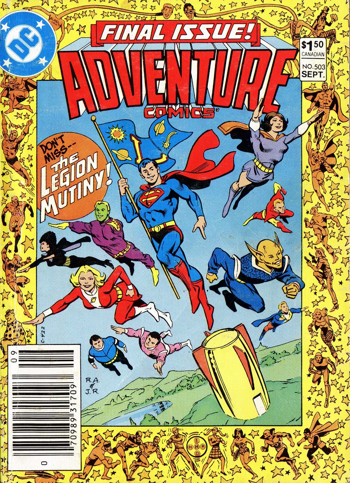 Adventure Comics (1938) 503 Page 1