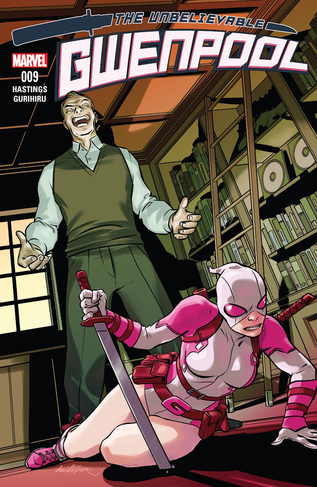 The Unbelievable Gwenpool 9 Page 1