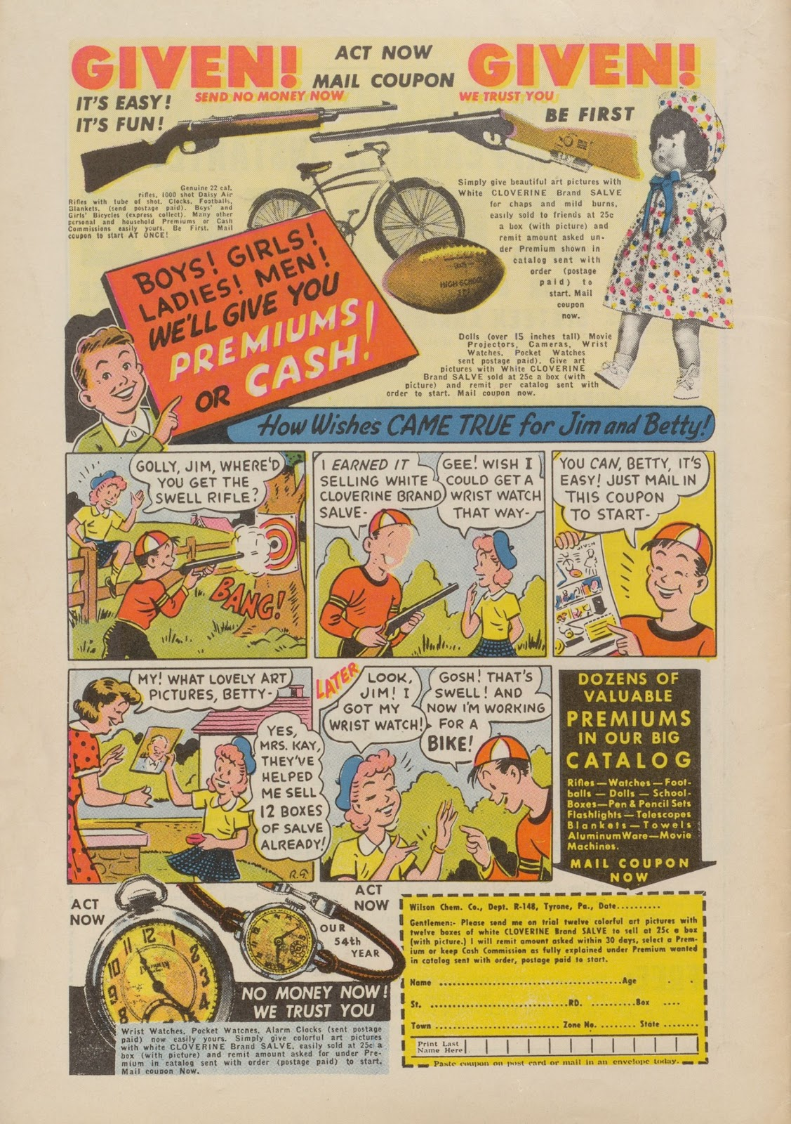 Read online Nellie The Nurse (1945) comic -  Issue #22 - 52