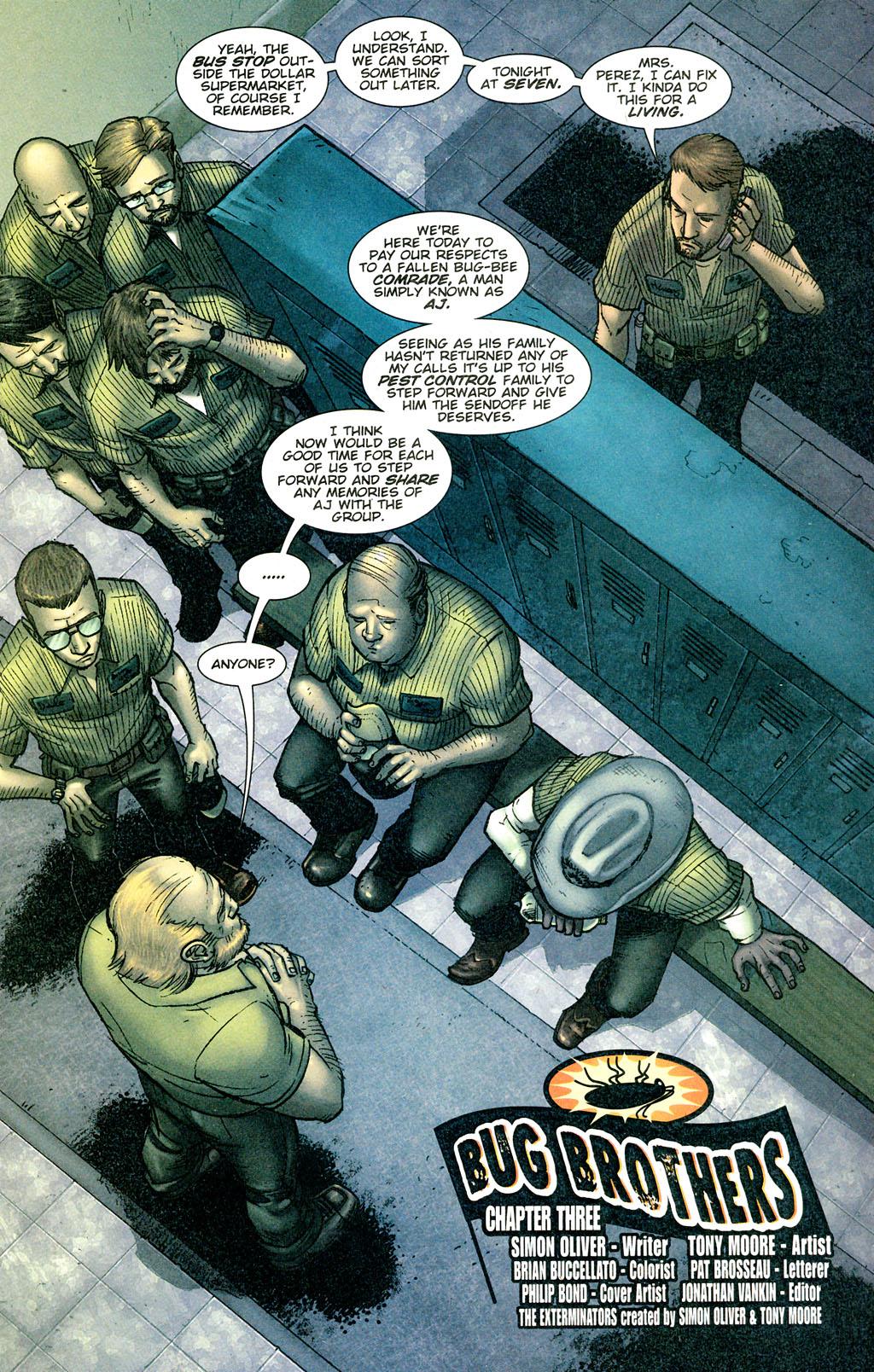 Read online The Exterminators comic -  Issue #3 - 4
