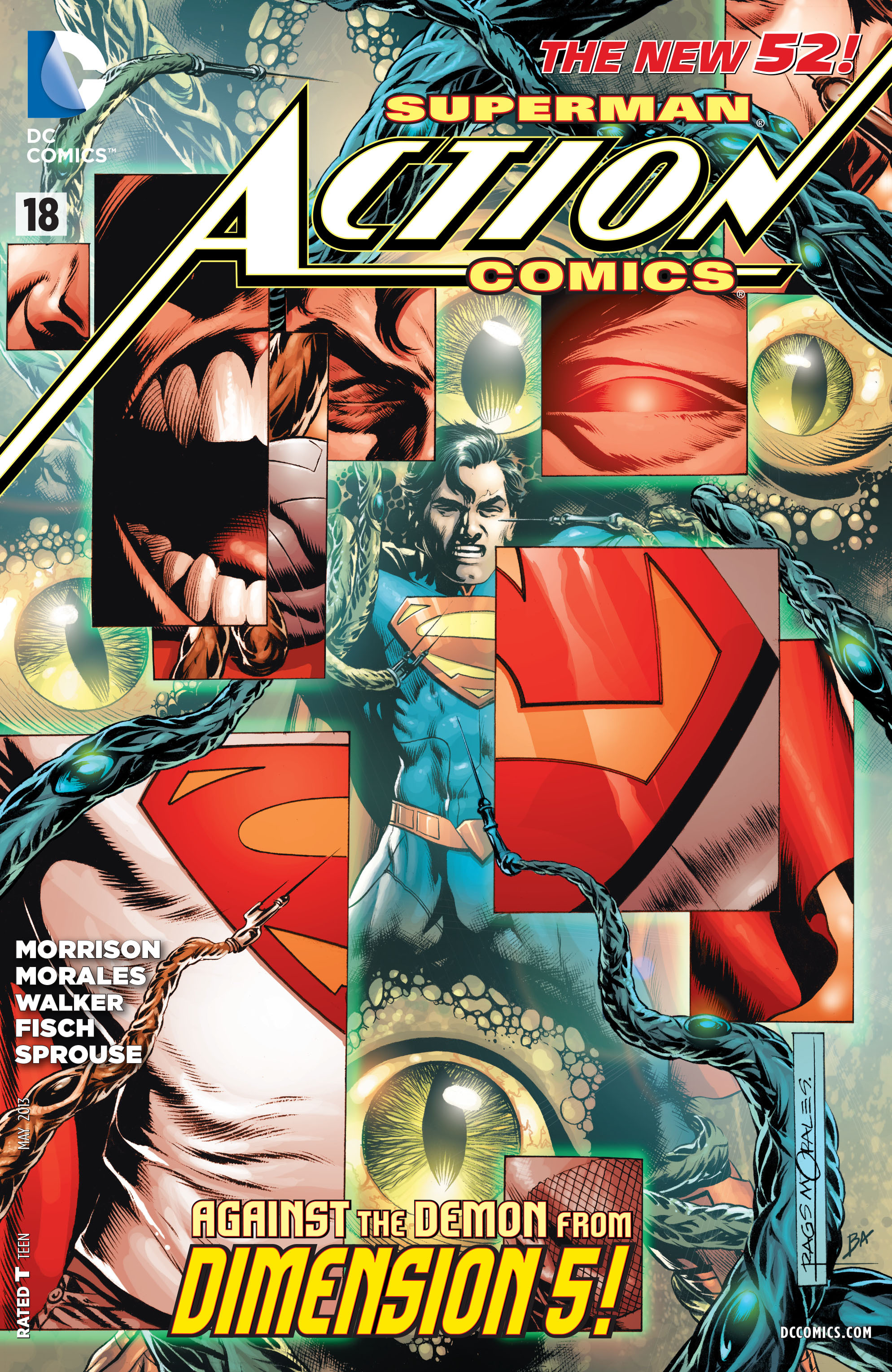 Read online Action Comics (2011) comic -  Issue #18 - 1