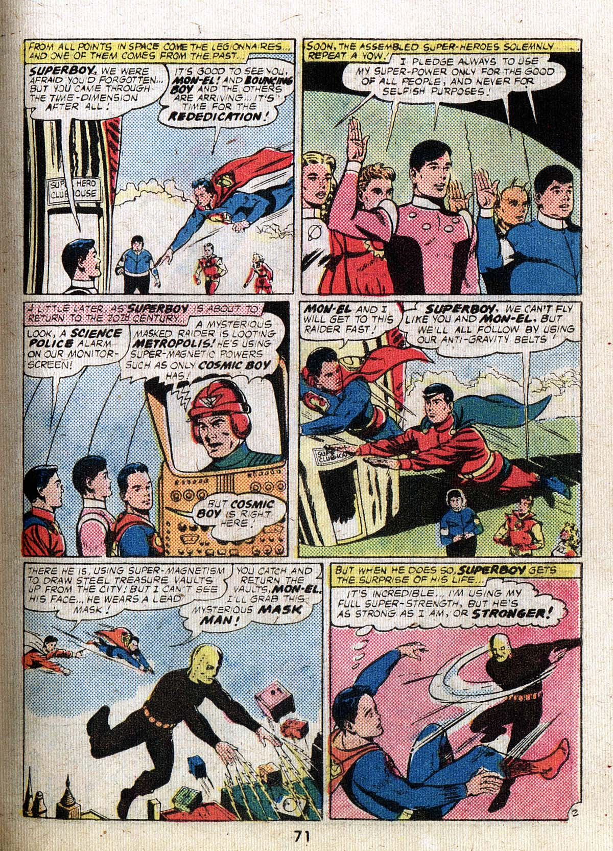 Read online Adventure Comics (1938) comic -  Issue #500 - 71