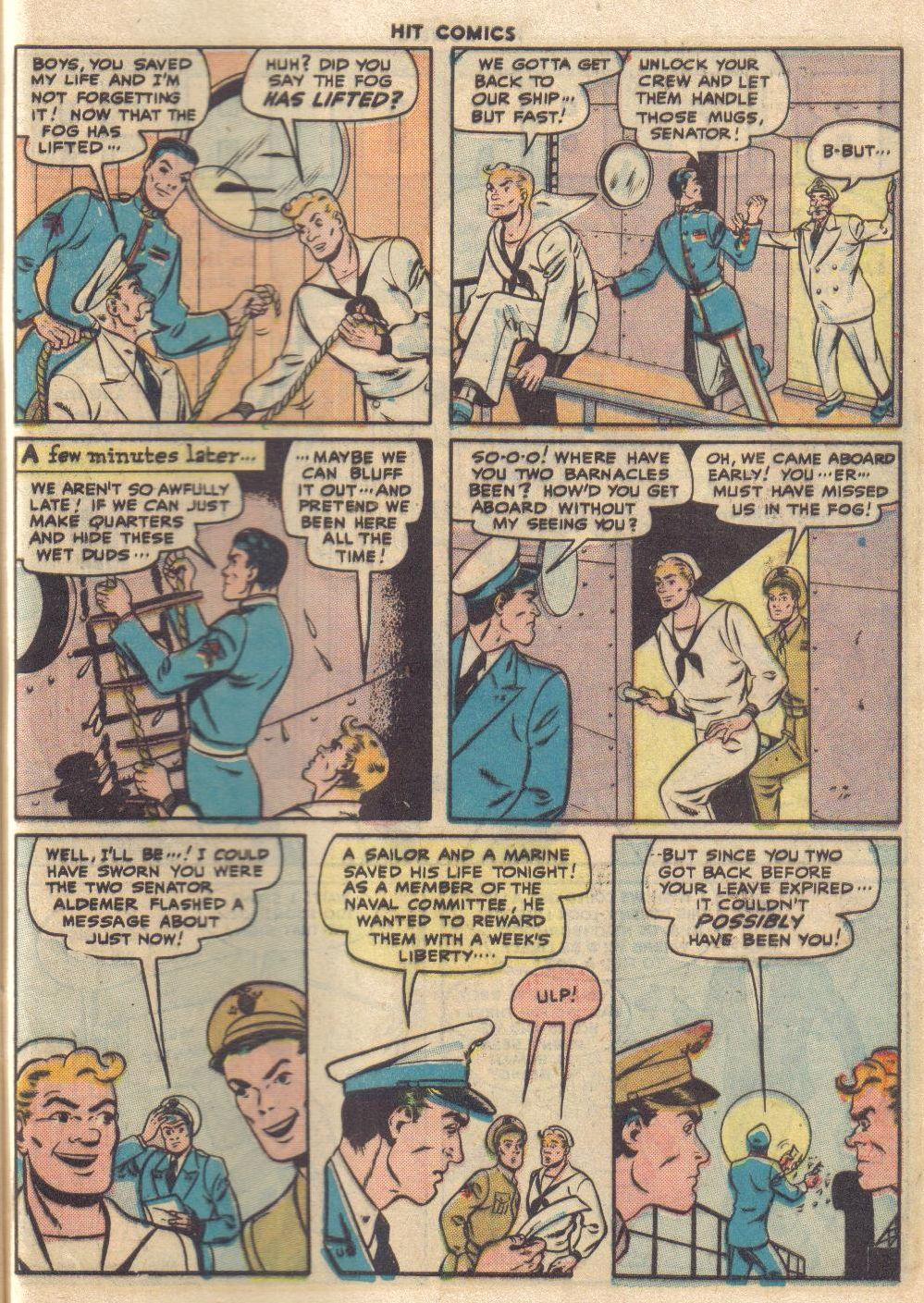 Read online Hit Comics comic -  Issue #46 - 49