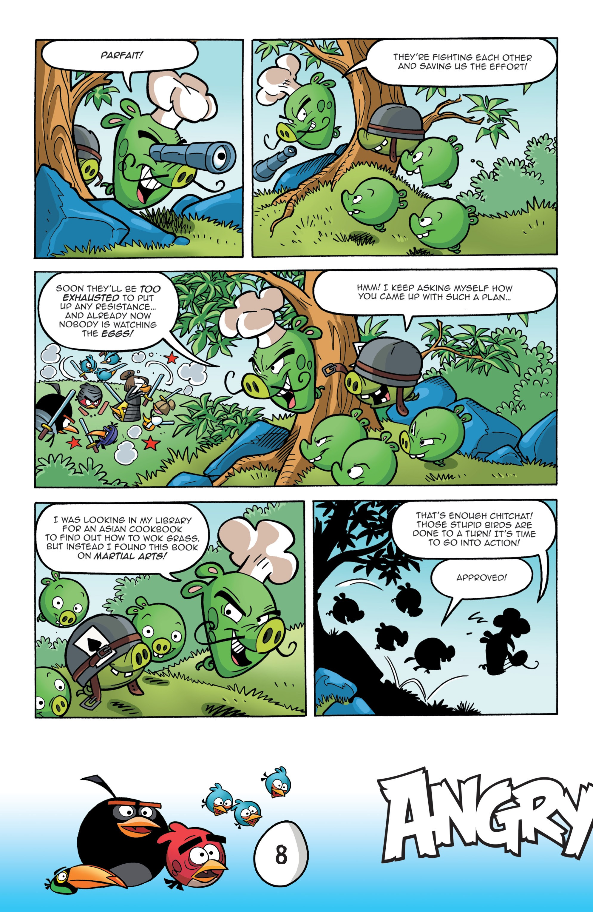 Read online Angry Birds Comics: Game Play comic -  Issue #1 - 10