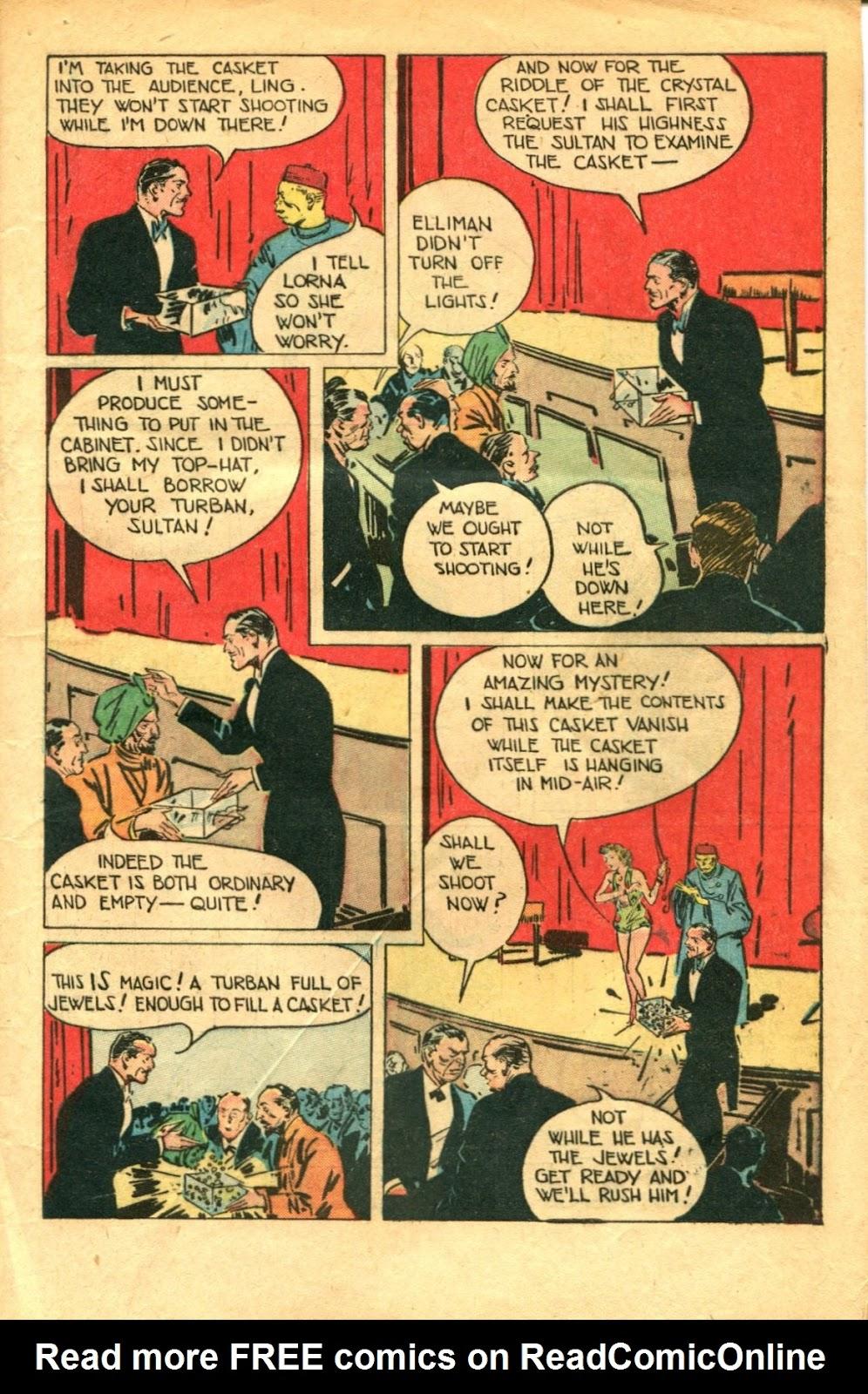 Read online Super-Magician Comics comic -  Issue #48 - 9