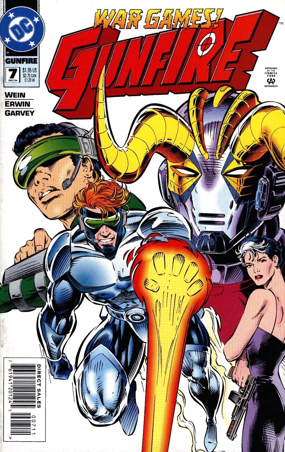 Read online Gunfire comic -  Issue #7 - 1