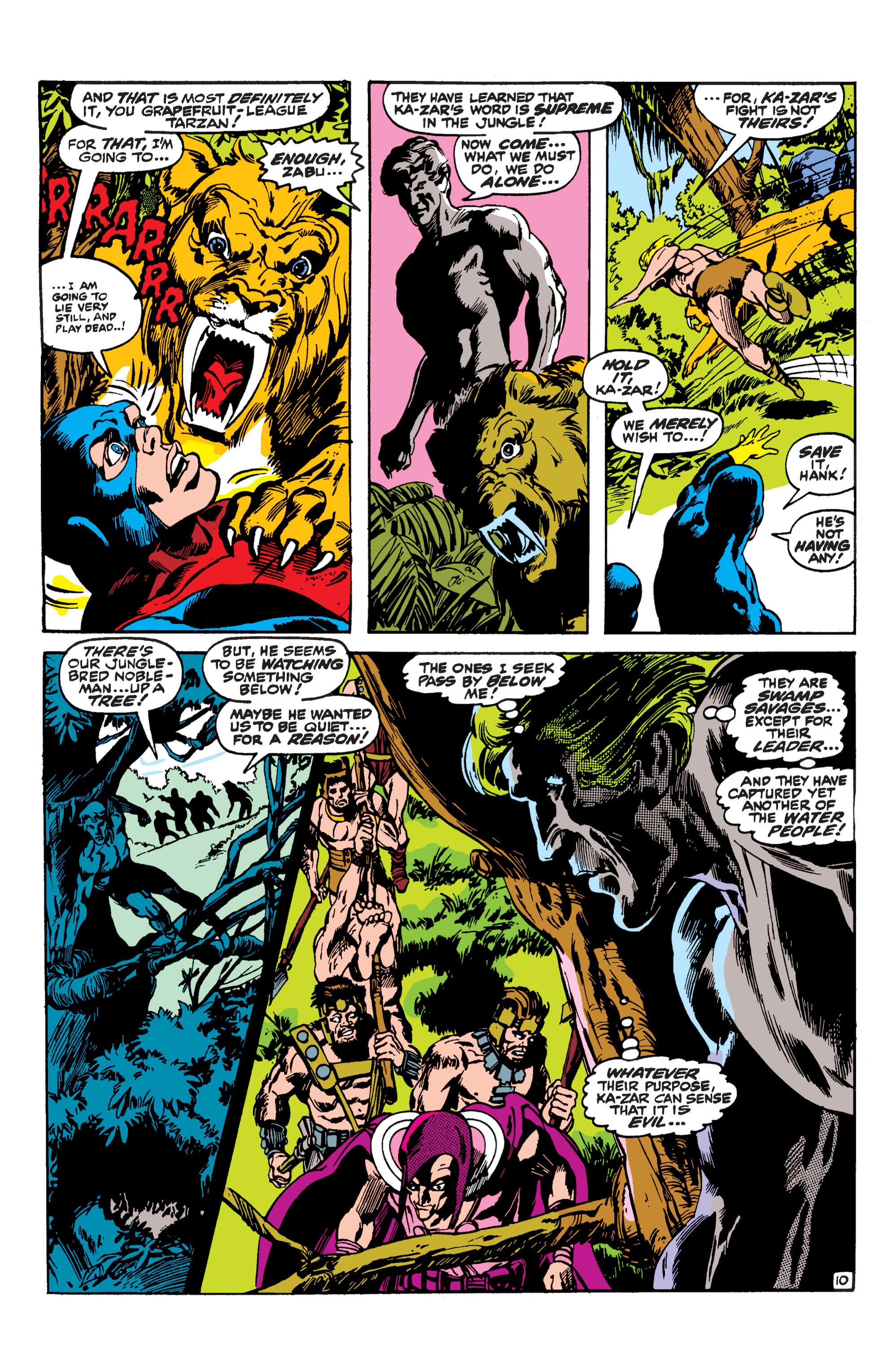 Uncanny X-Men (1963) 62 Page 10