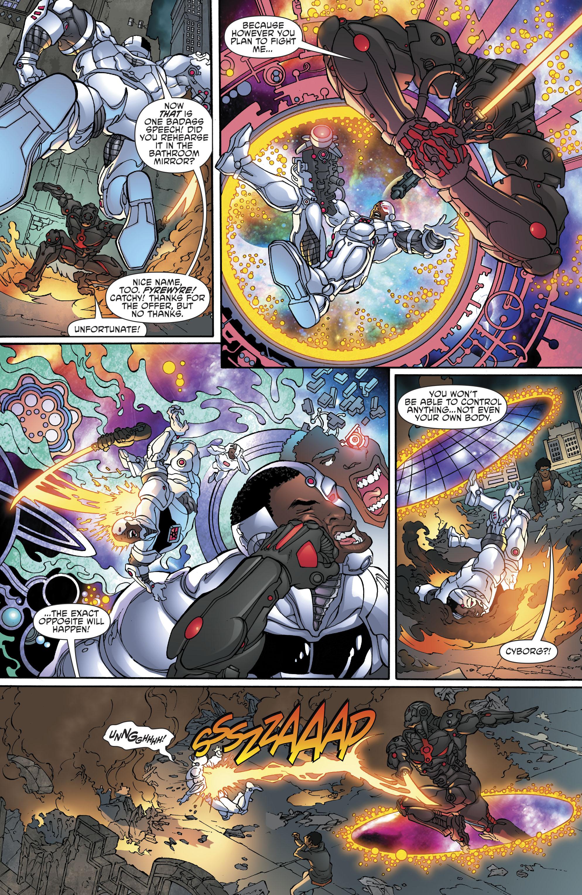 Read online Cyborg (2016) comic -  Issue #13 - 10