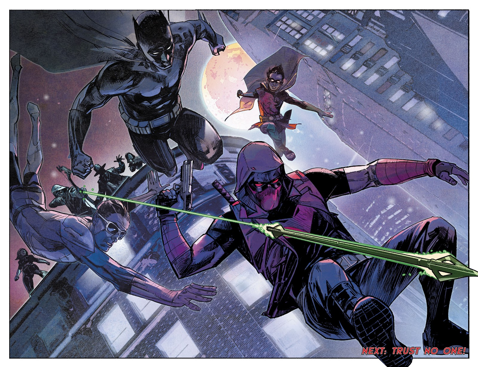 DC Comics Event Leviathan Manhunter Jason Todd Red Hood Brian micheal Bendis