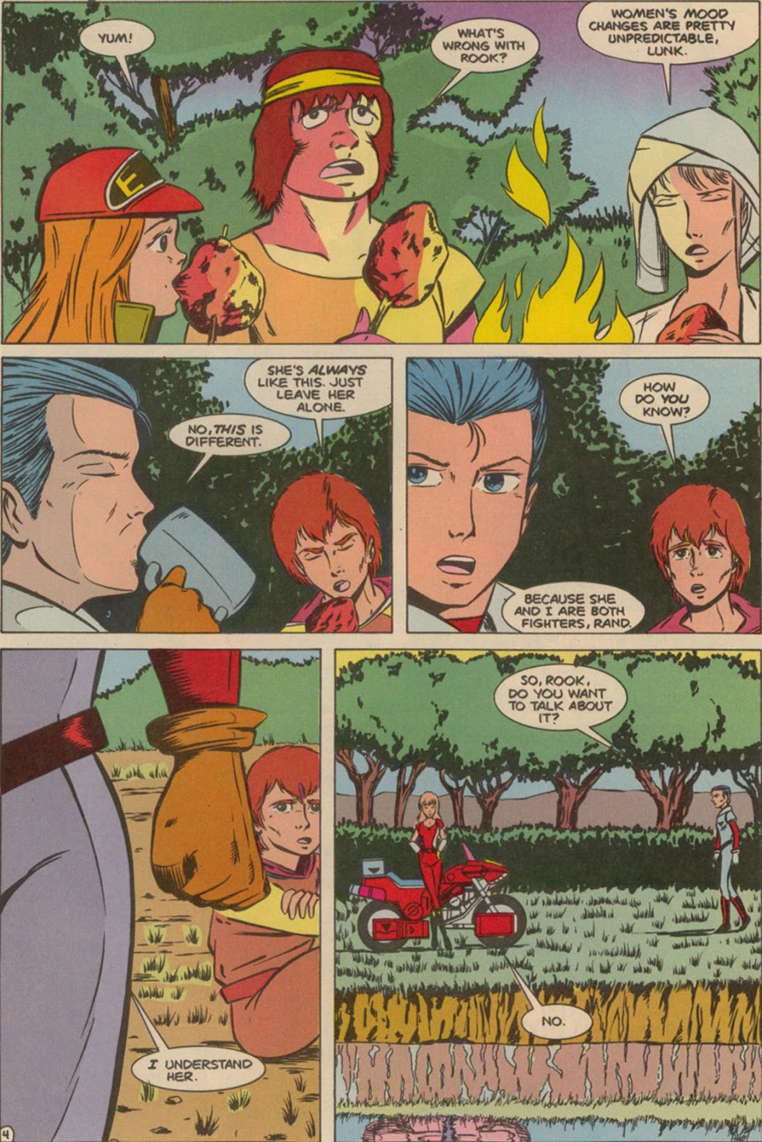 Robotech The New Generation issue 6 - Page 6