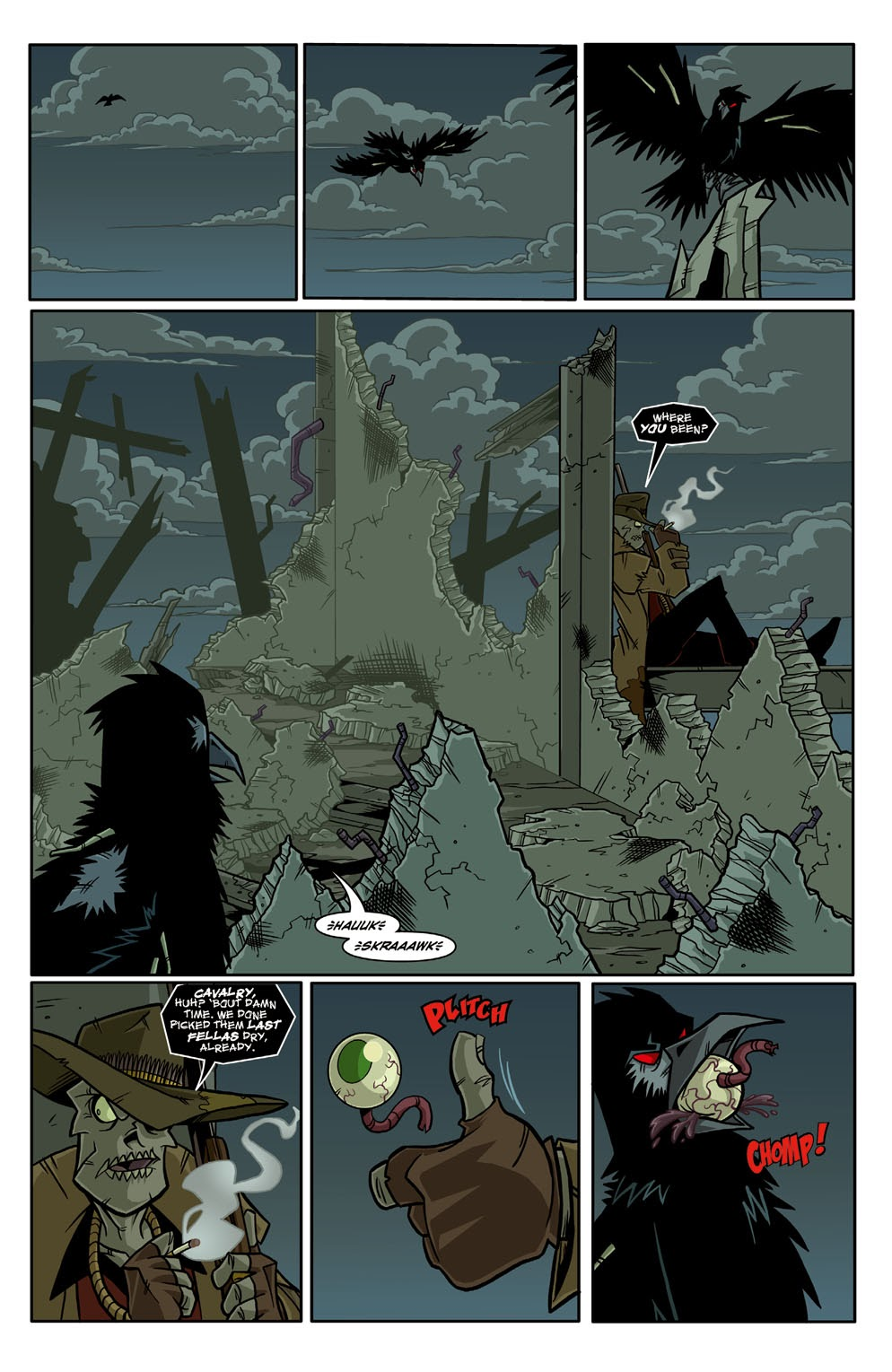 Read online Xombie Reanimated comic -  Issue #3 - 14