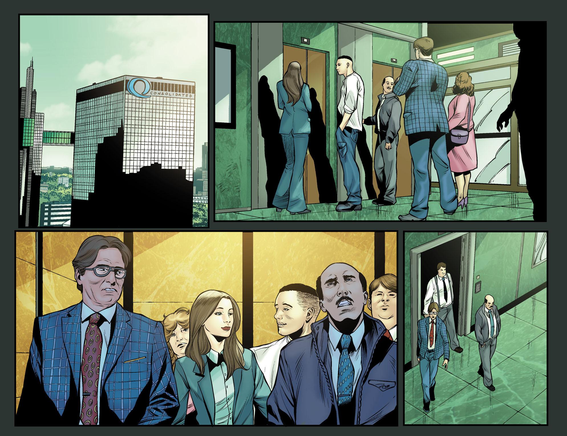 Read online Arrow: The Dark Archer comic -  Issue #12 - 21