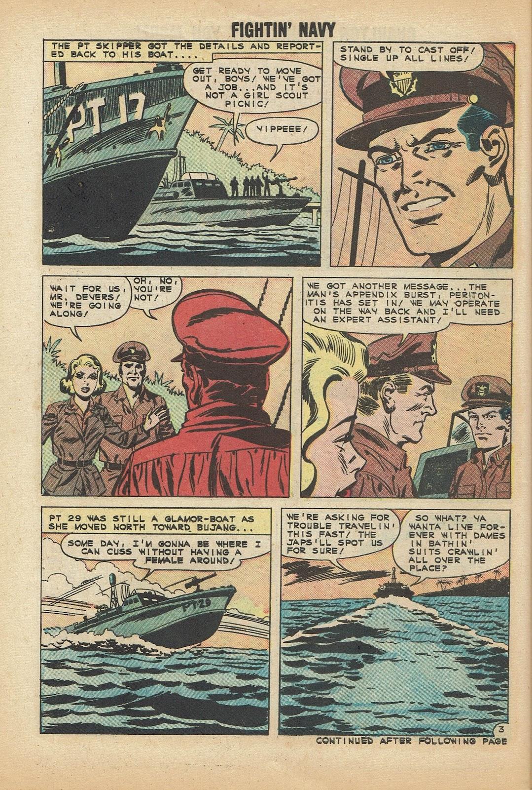 Read online Fightin' Navy comic -  Issue #97 - 30