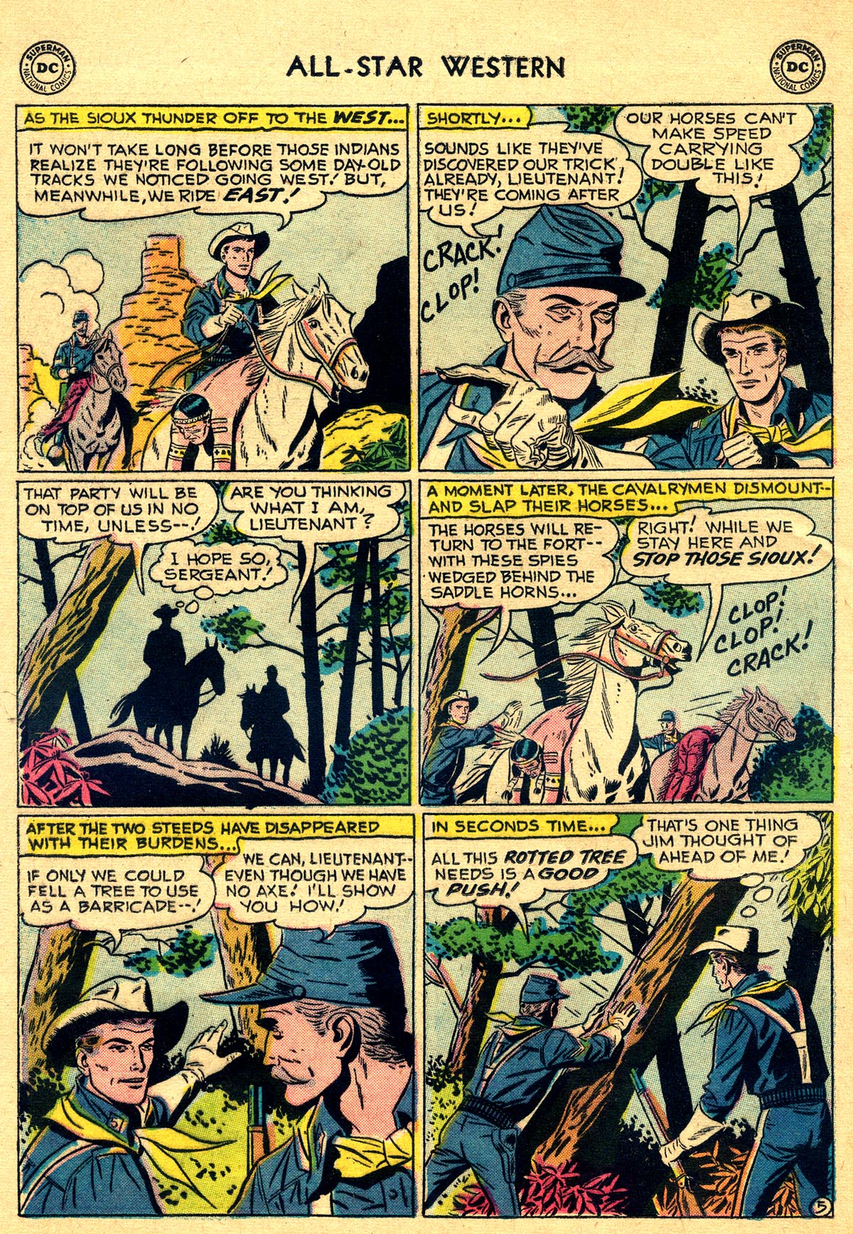 Read online All-Star Western (1951) comic -  Issue #93 - 24