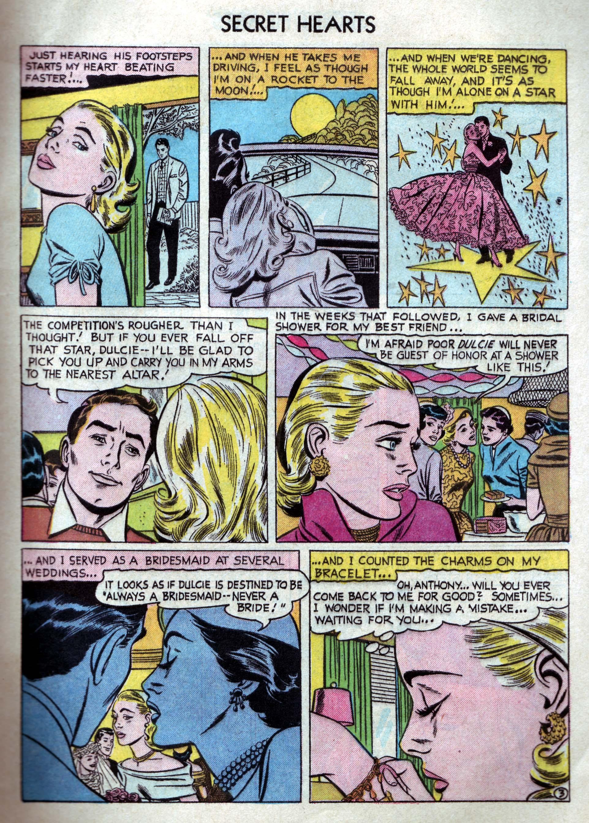 Read online Secret Hearts comic -  Issue #33 - 5