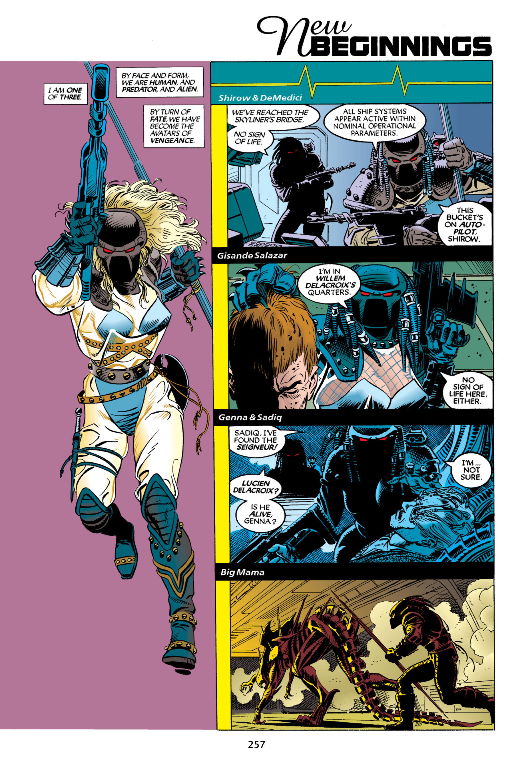 Read online Aliens vs. Predator Omnibus comic -  Issue # _TPB 2 Part 3 - 33