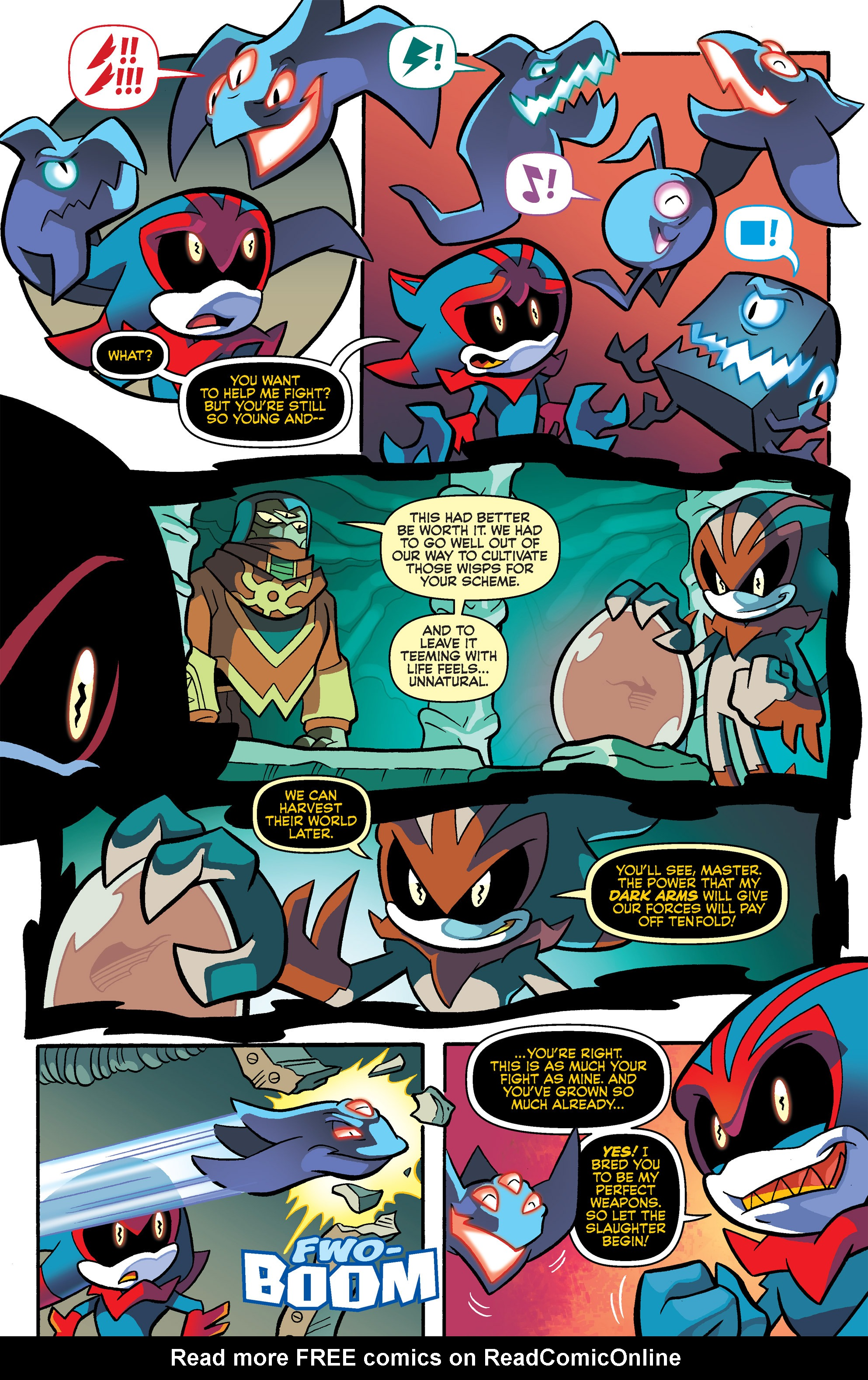 Read online Sonic Universe comic -  Issue #69 - 10