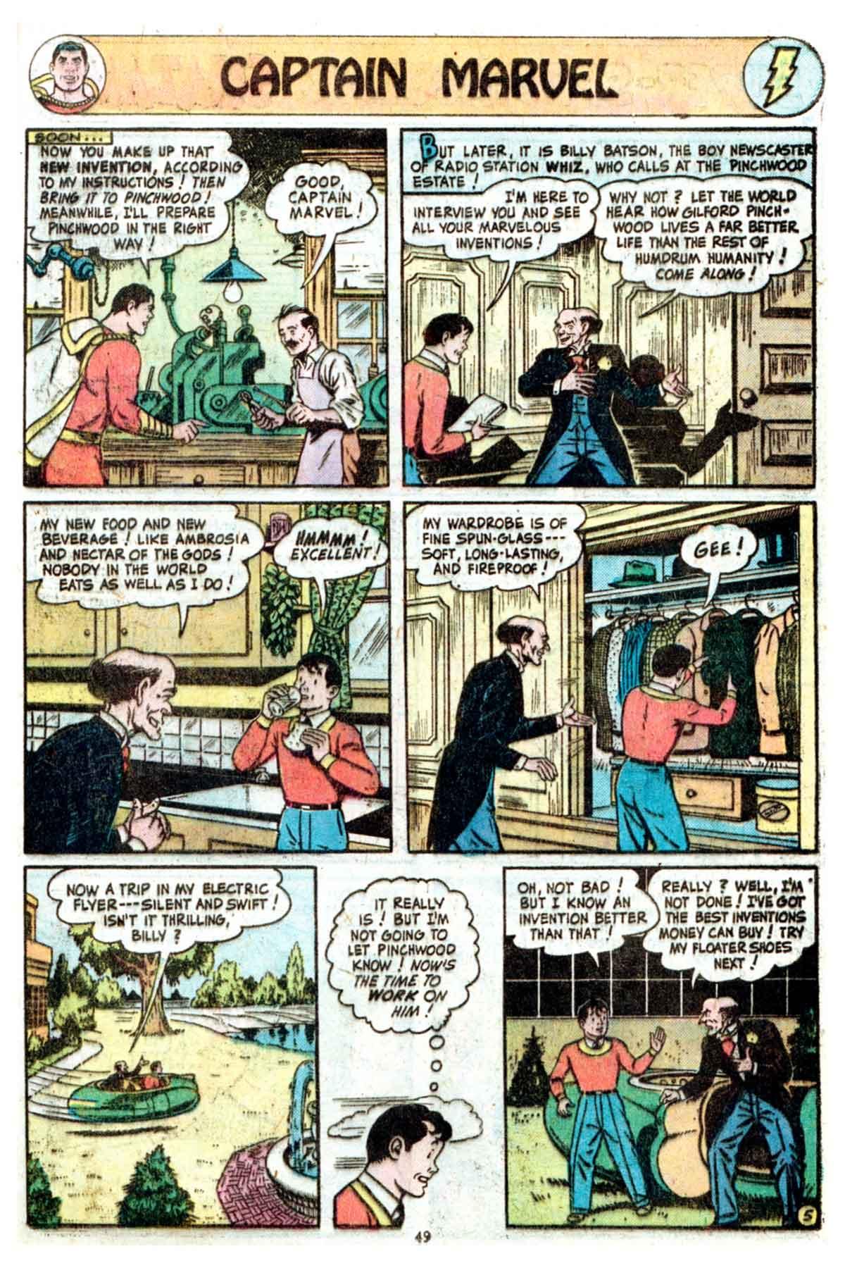 Read online Shazam! (1973) comic -  Issue #16 - 49