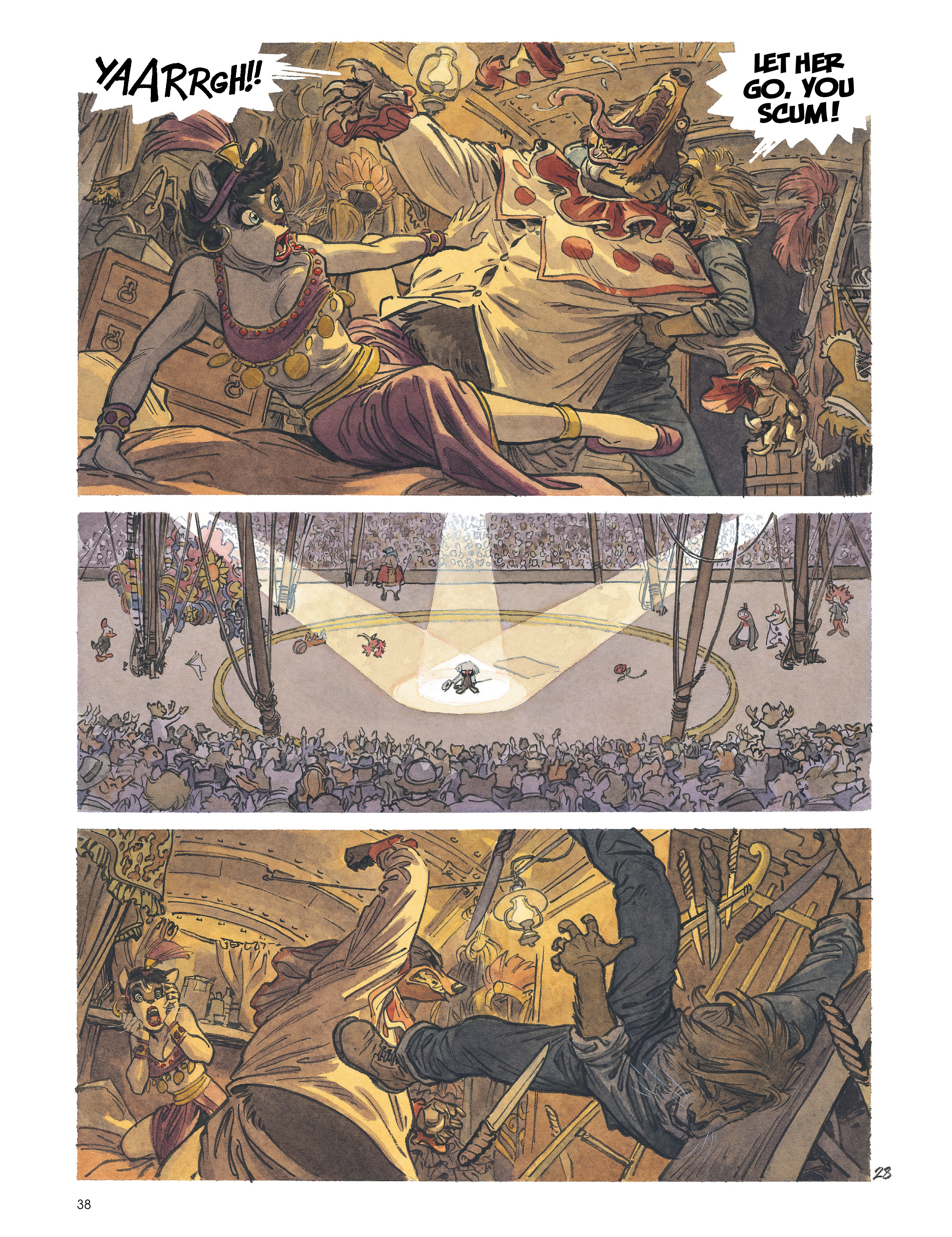 Read online Blacksad: Amarillo comic -  Issue # Full - 37