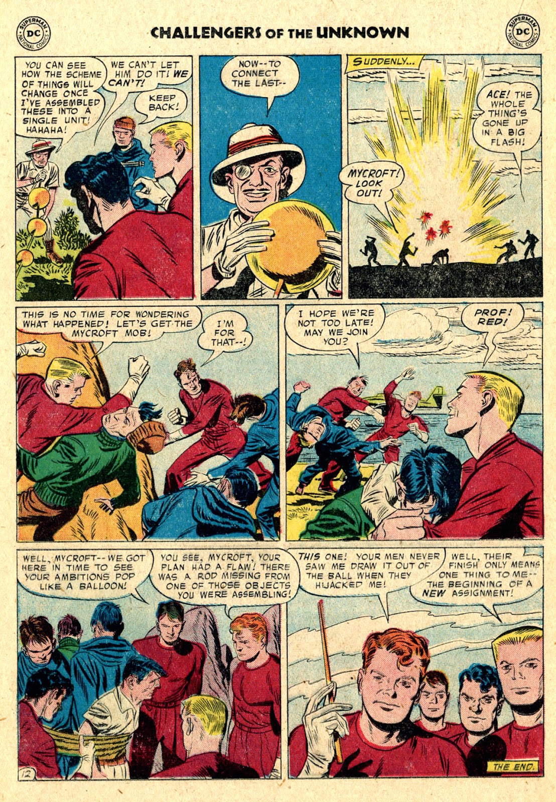 Challengers of the Unknown (1958) issue 3 - Page 16