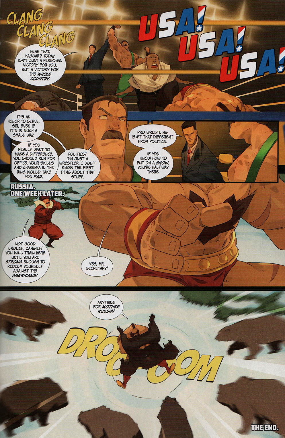 Read online Free Comic Book Day 2017 comic -  Issue # Street Fighter V - Wrestling Special - 25