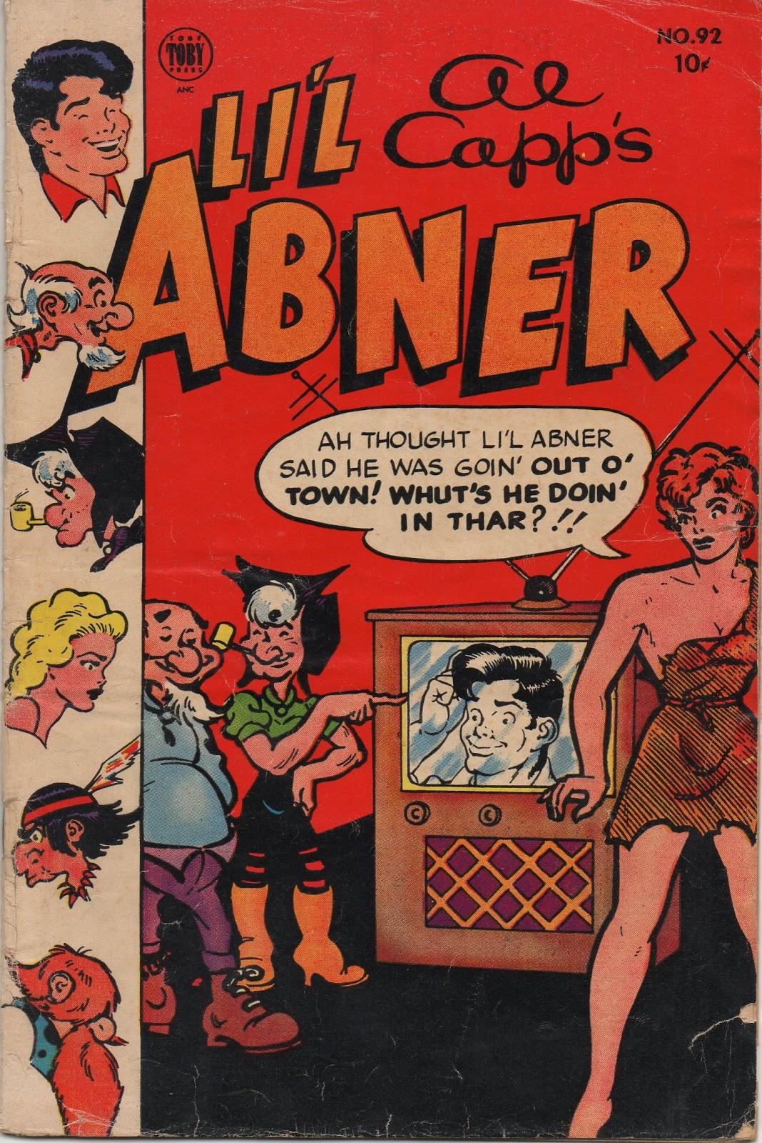 Lil Abner Comics 92 Page 1