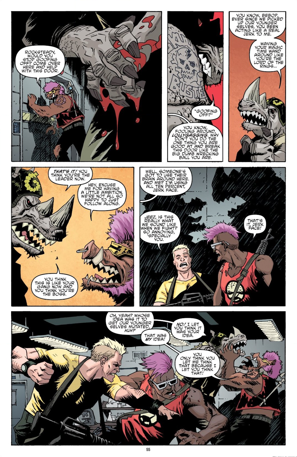 Read online Teenage Mutant Ninja Turtles: The IDW Collection comic -  Issue # TPB 8 (Part 1) - 55