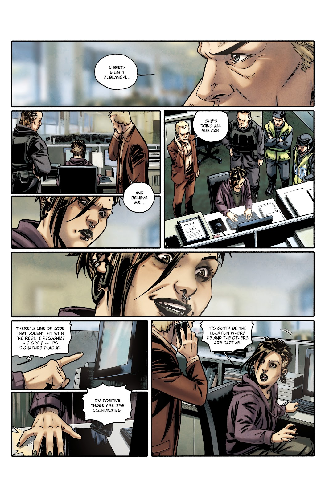 Read online Millennium: The Girl Who Danced With Death comic -  Issue #3 - 44