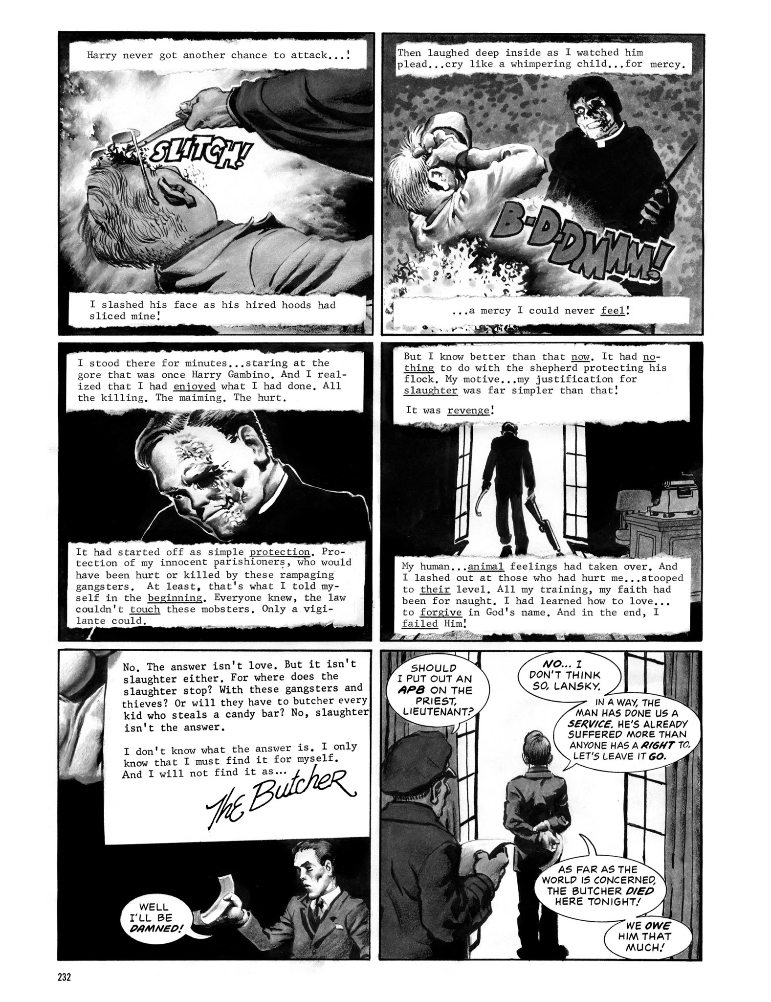 Read online Eerie Archives comic -  Issue # TPB 13 - 233