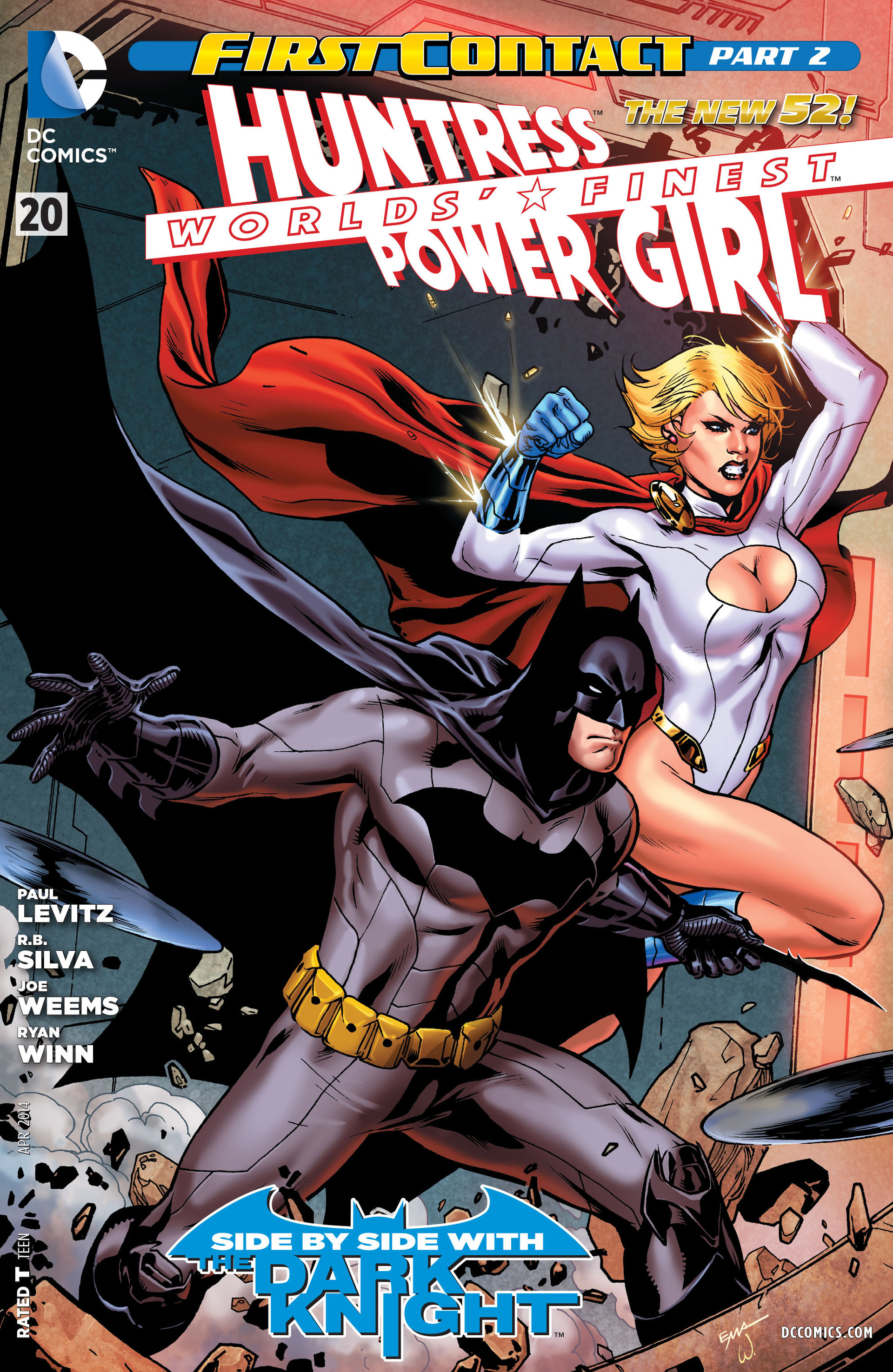Read online Worlds' Finest comic -  Issue #20 - 1