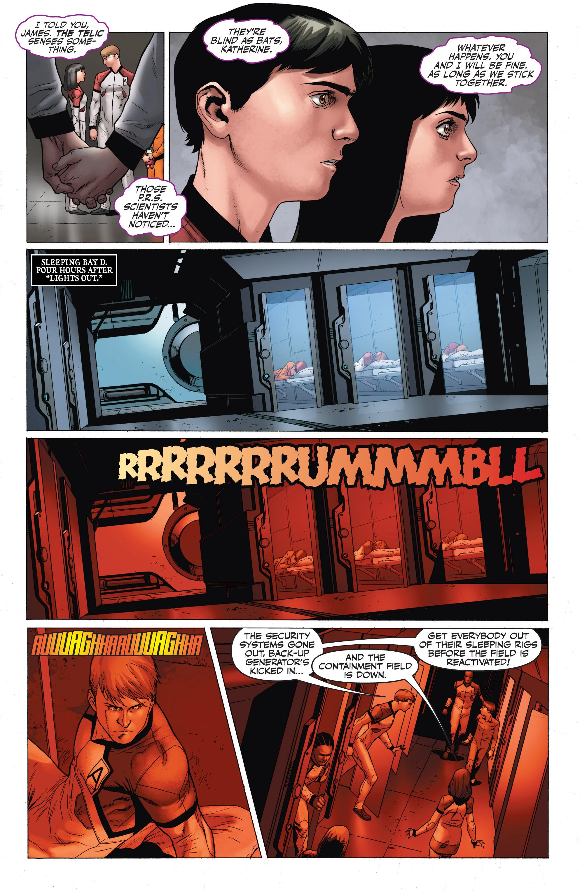 Read online Armor Hunters: Harbinger comic -  Issue # TPB - 97