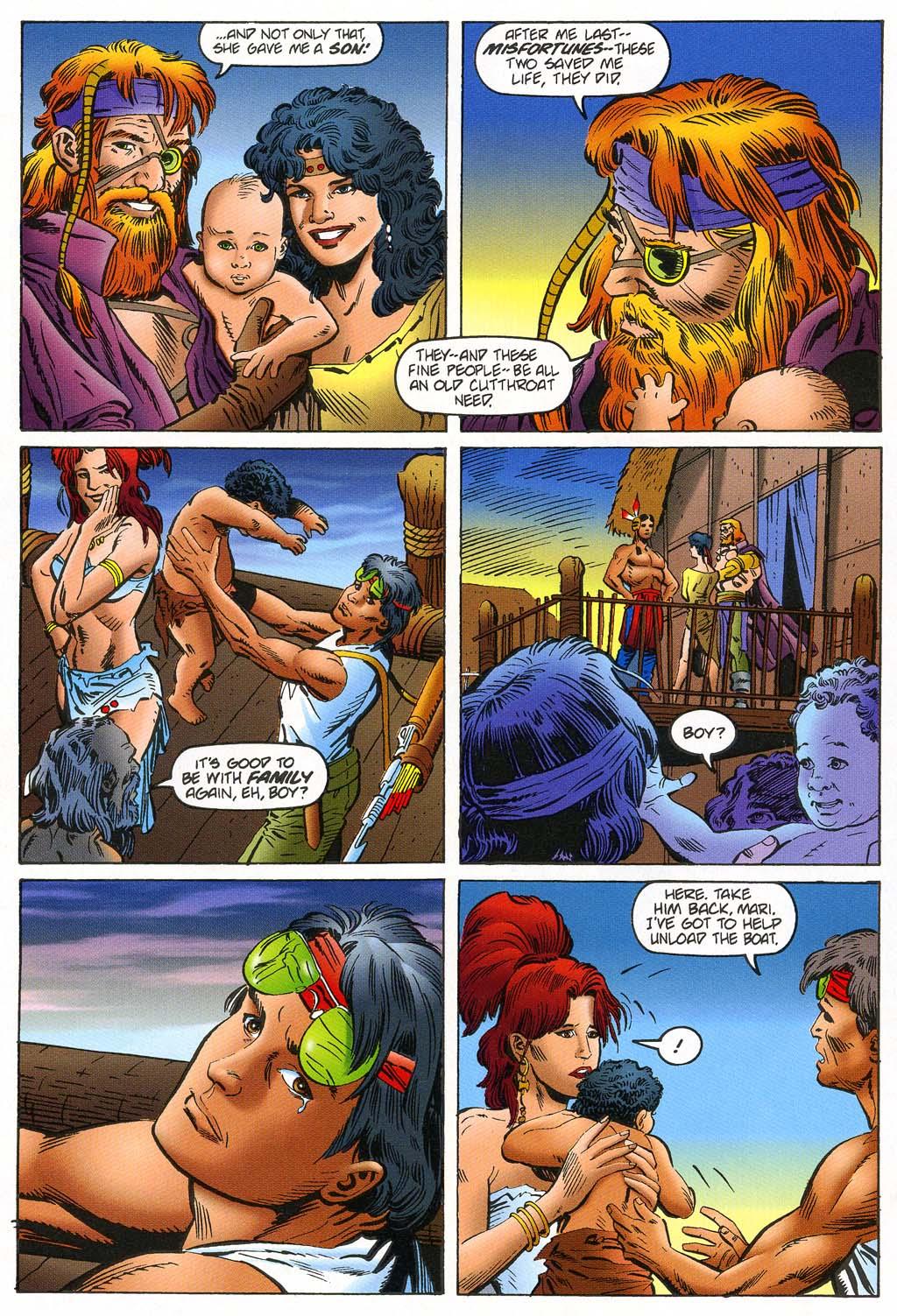 Read online Turok, Dinosaur Hunter (1993) comic -  Issue #45 - 19