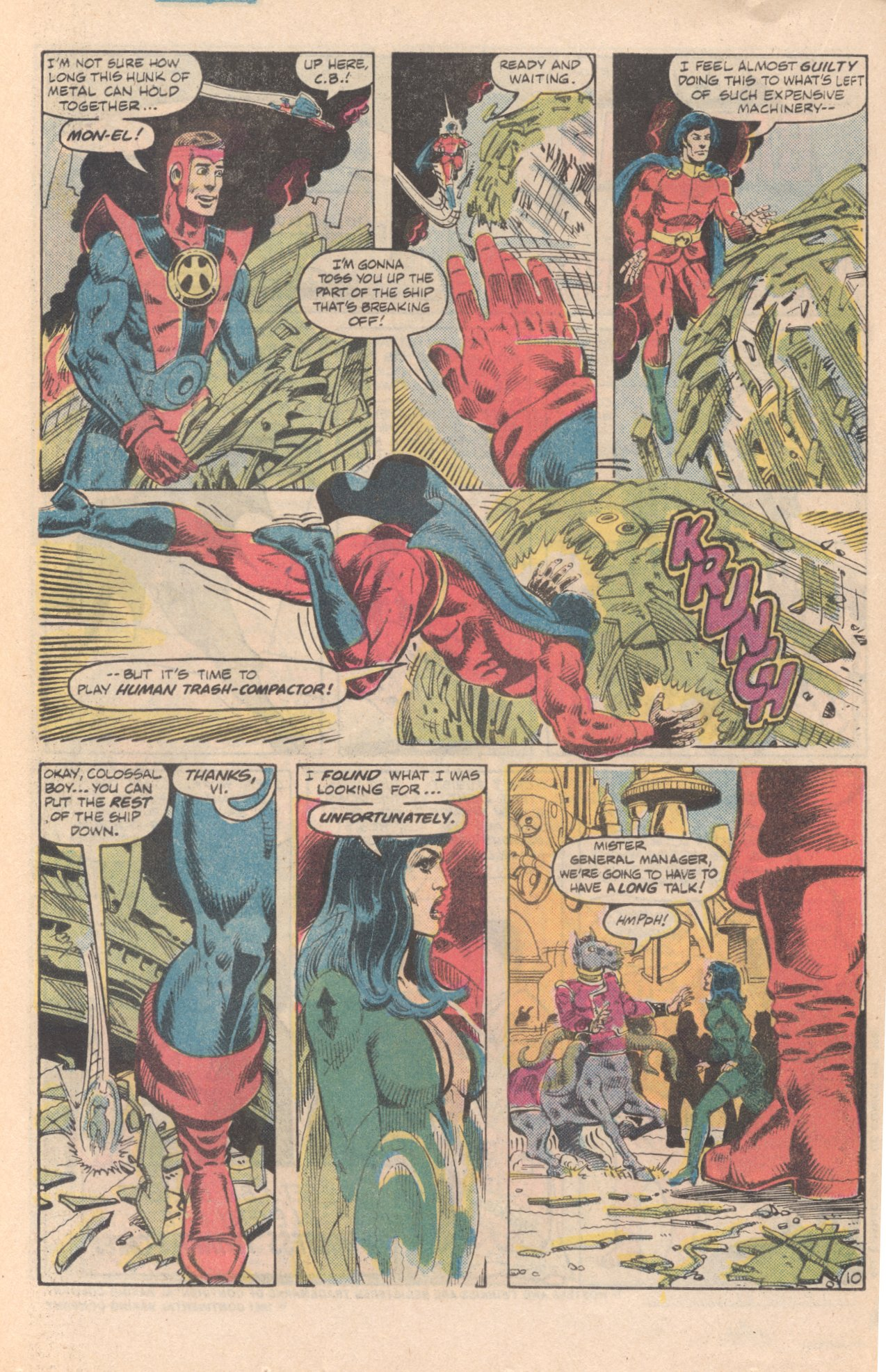 Legion of Super-Heroes (1980) 285 Page 10