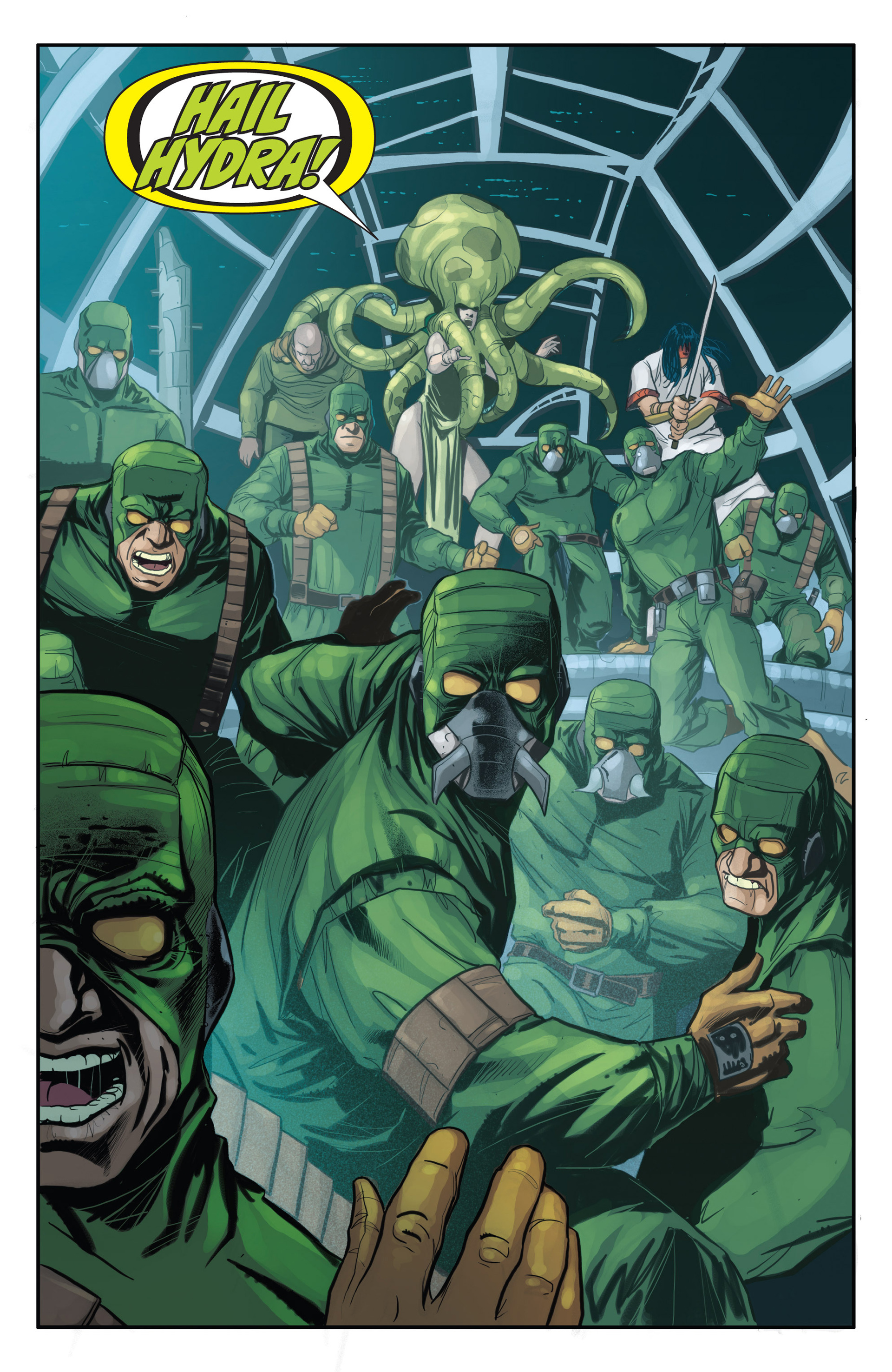 Read online Secret Warriors comic -  Issue #21 - 7