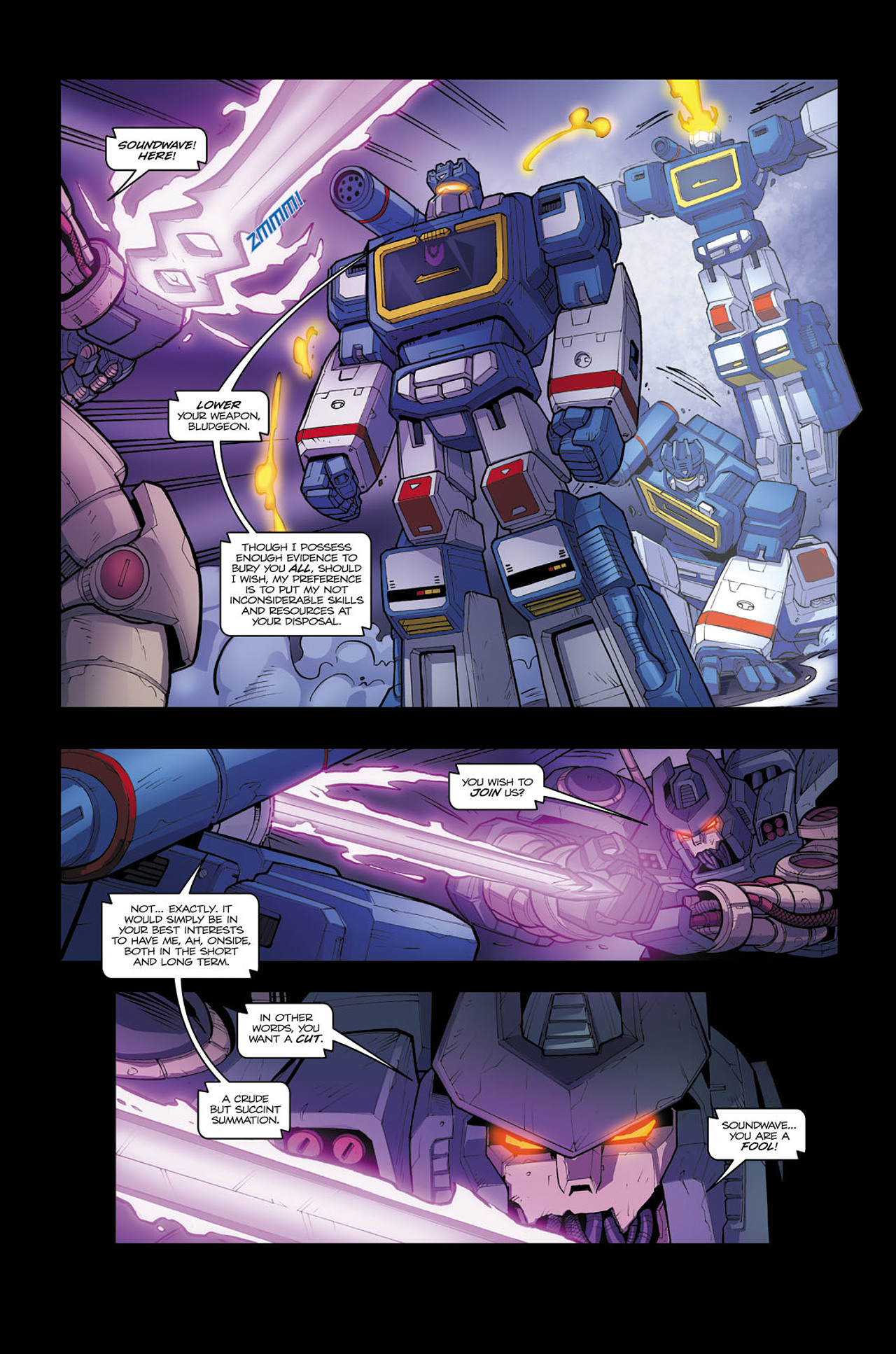Read online Transformers Spotlight: Soundwave comic -  Issue # Full - 16
